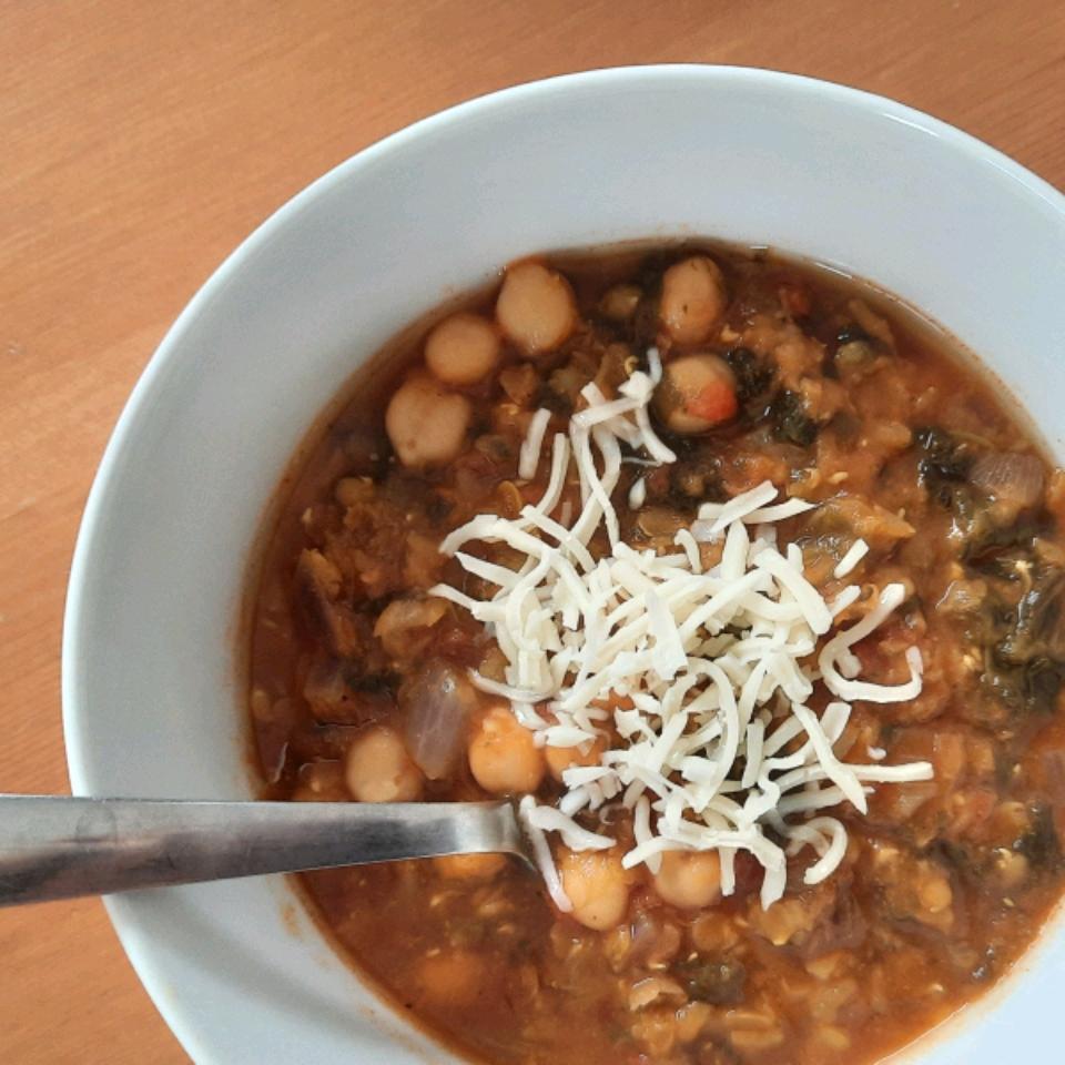 Bryan's Spicy Red Lentil Soup Shari Blodgett