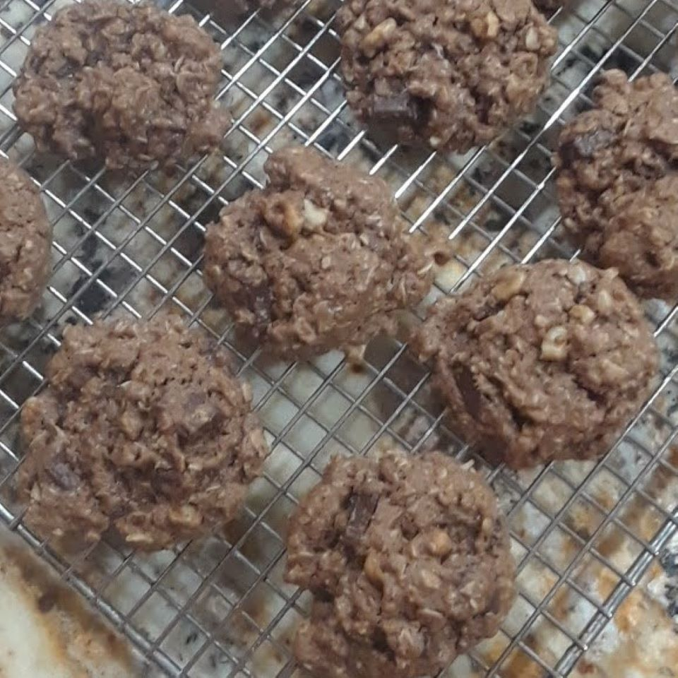 Chewy Double-Chocolate Lactation Cookies