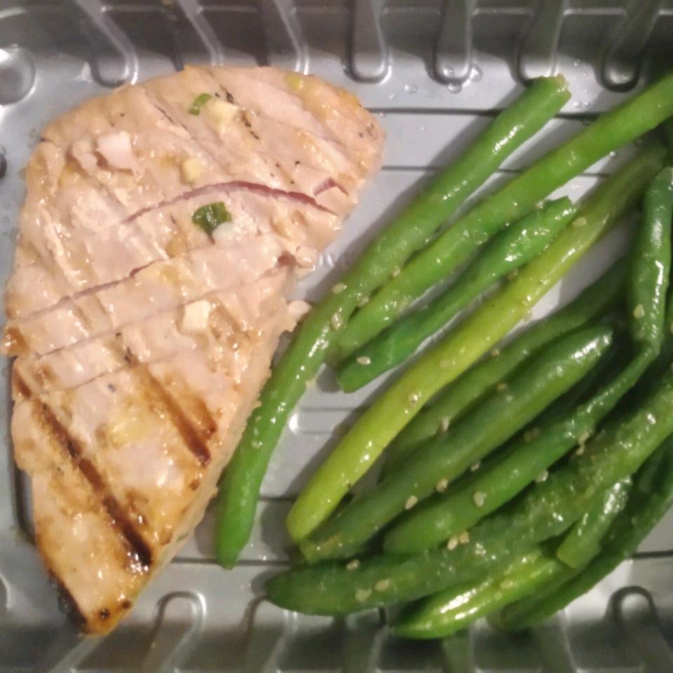 Asian Sesame Seared or Grilled Tuna (Gluten Free)