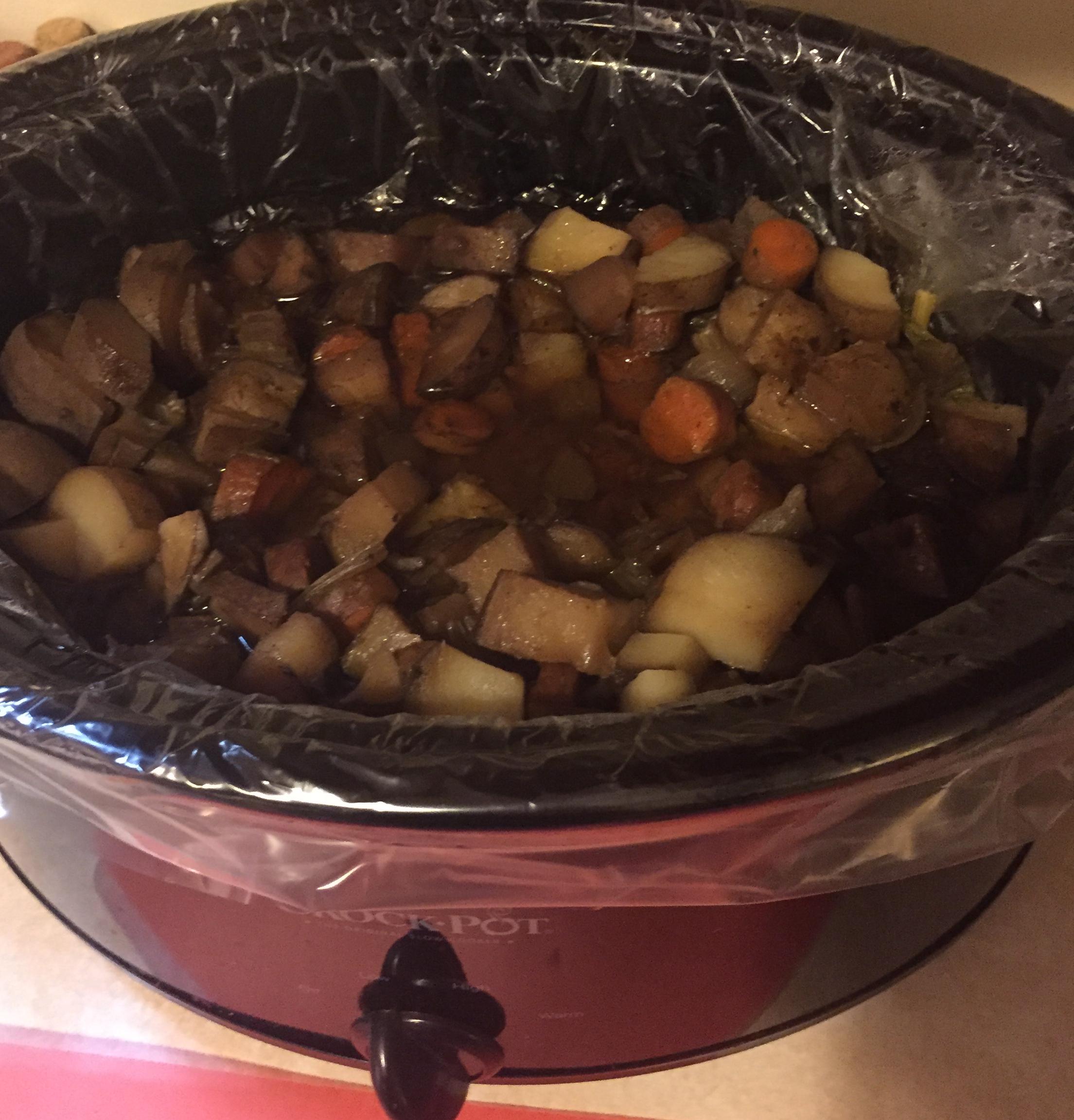 Mushroom Slow Cooker Roast Beef