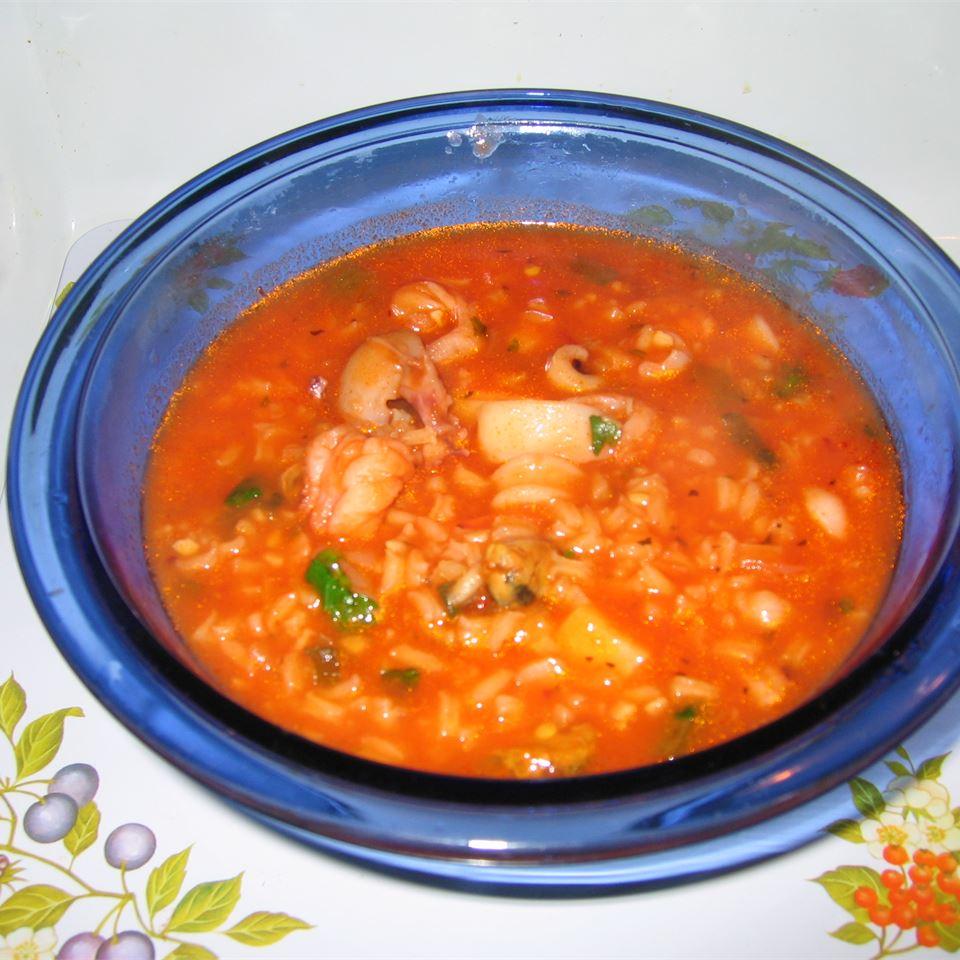 Big Ed's Cajun Shrimp Soup Carina