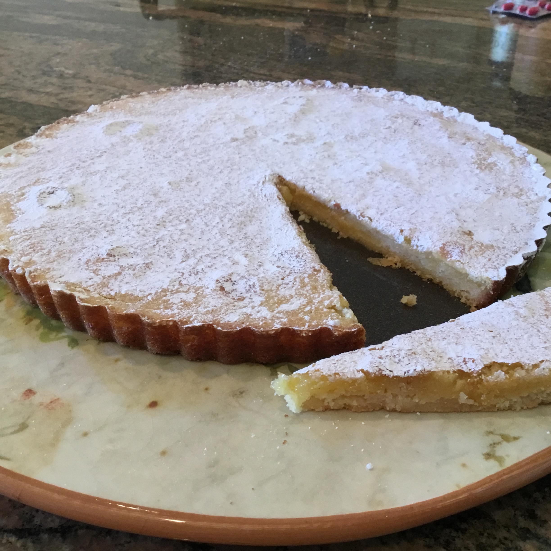 Sweet and Simple Lemon Tart iamkmba