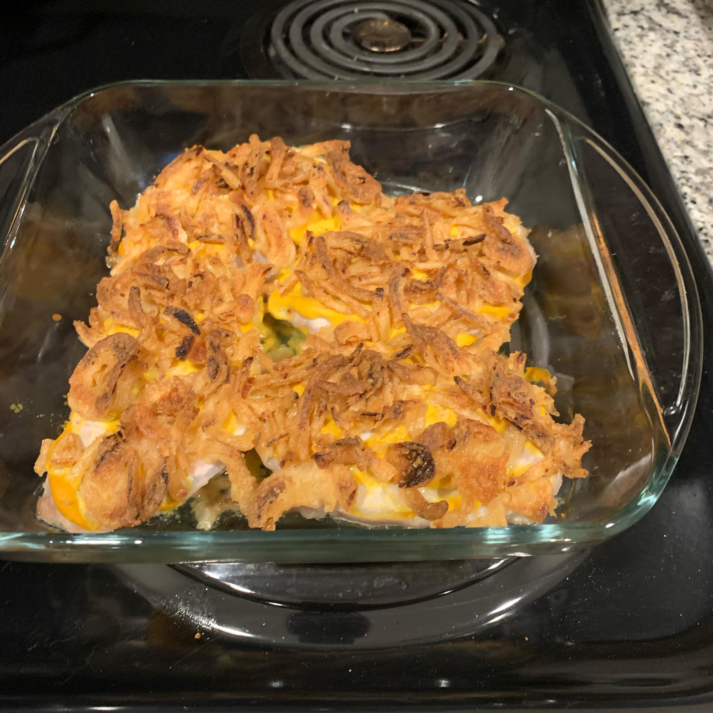 Mustard Onion Pork Chops Bill Lopez