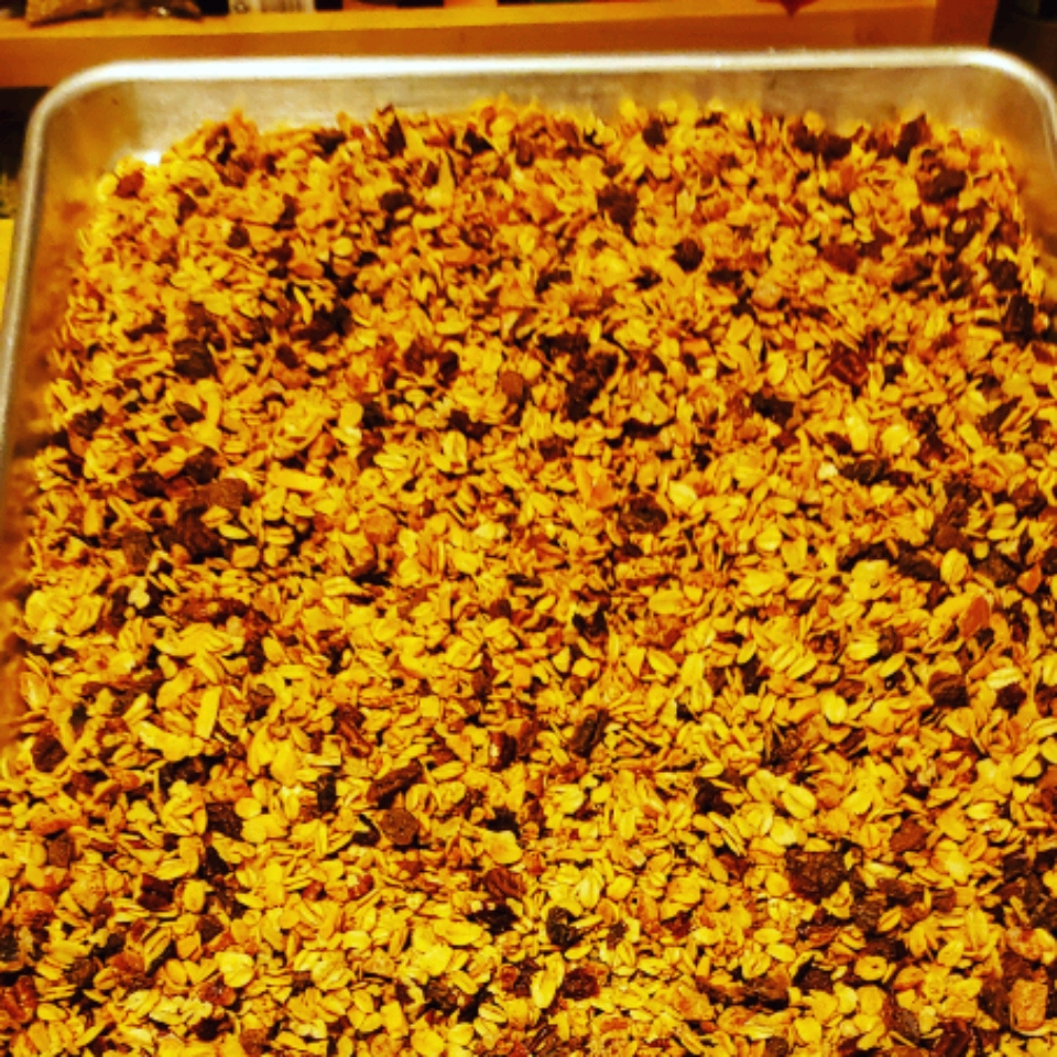 Maple Pecan Granola with Dried Fruit Angel Alexander