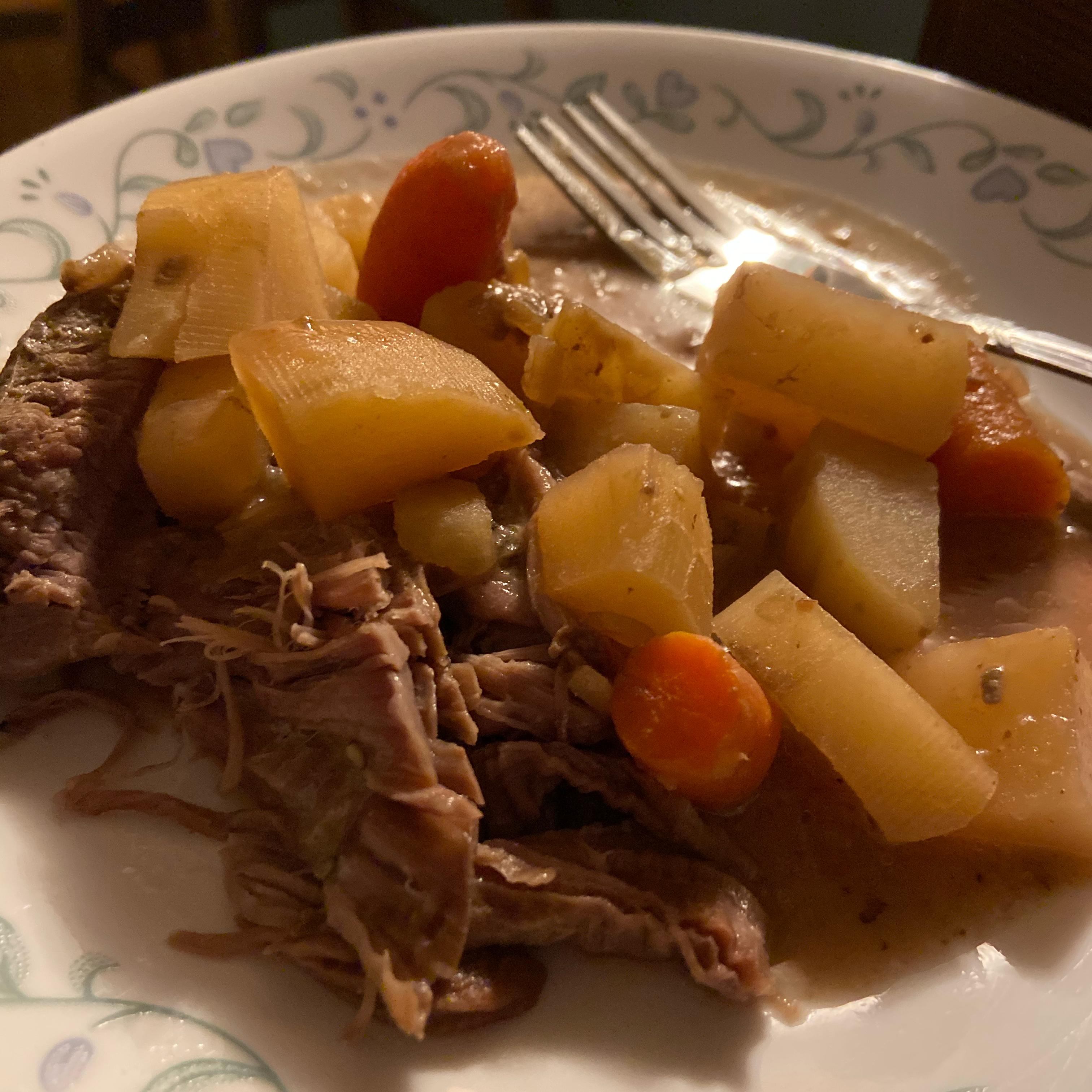 Slow Cooker Venison Roast