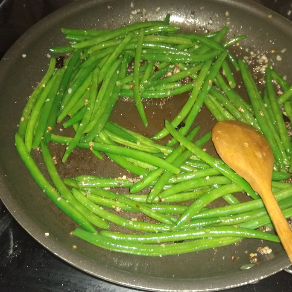 Spicy Indian (Gujarati) Green Beans James