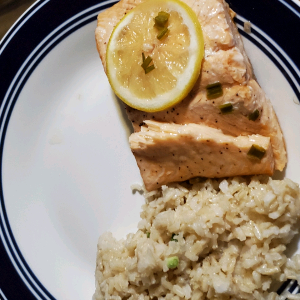 Carly's Salmon En Papillote (In Paper) Ashley Lively