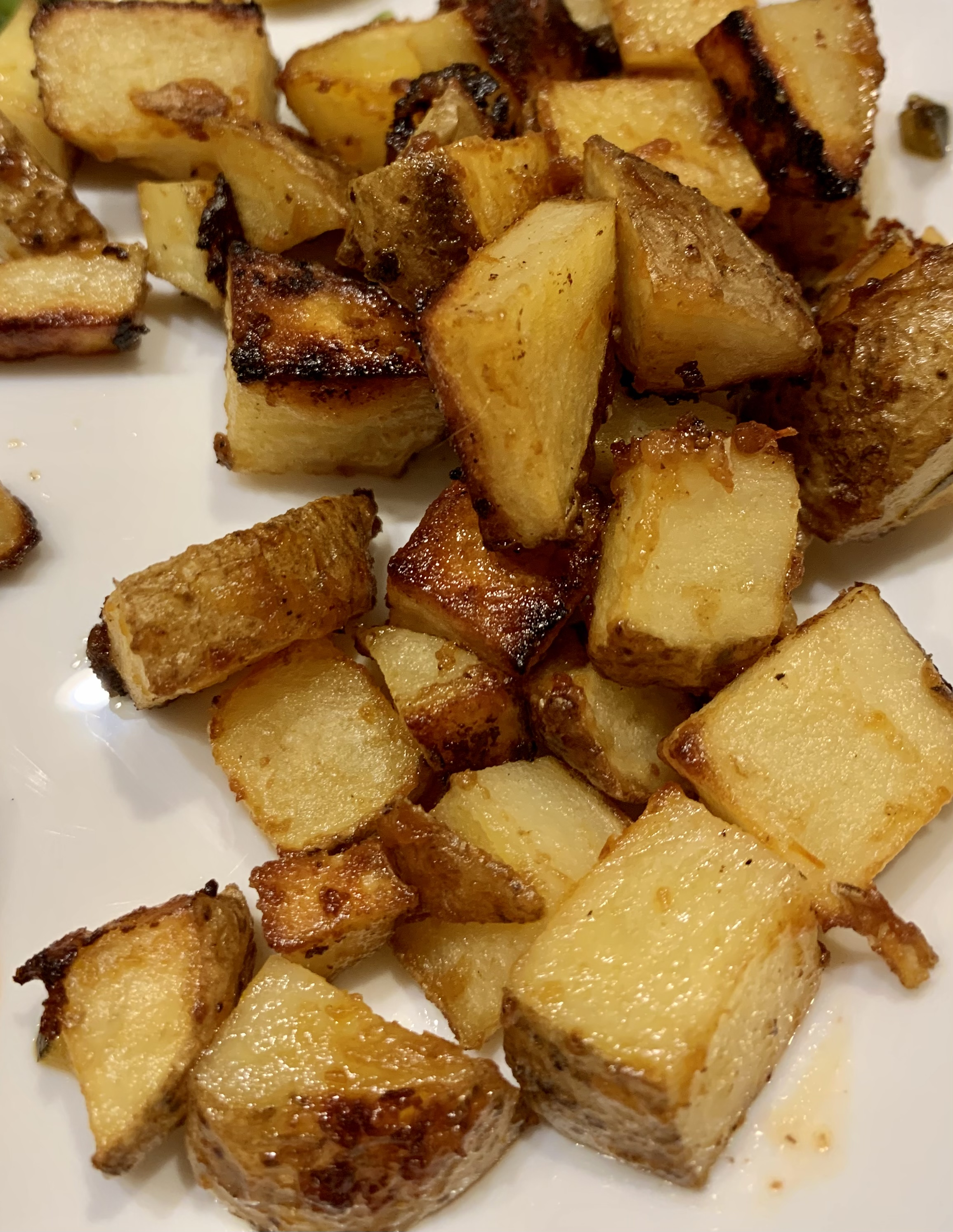 Roasted Thousand Island Potatoes