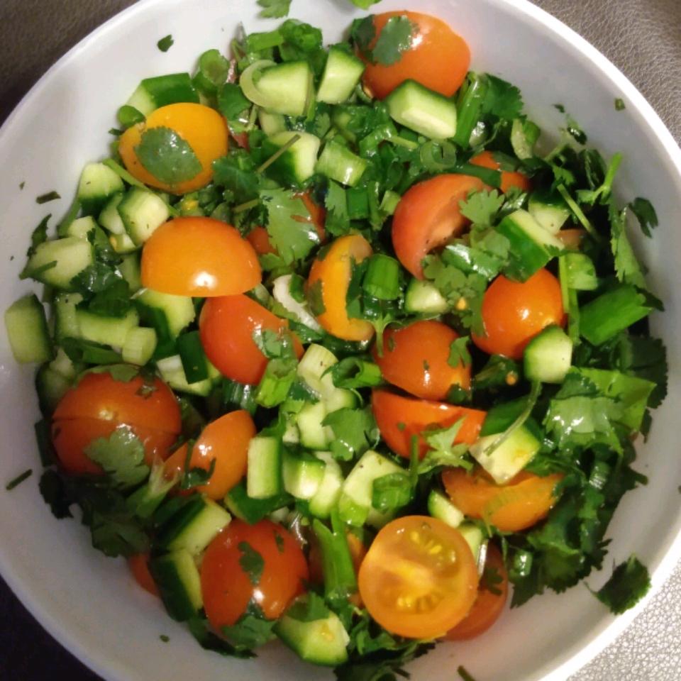 Tomato Cucumber Kachumbar Craig Harris
