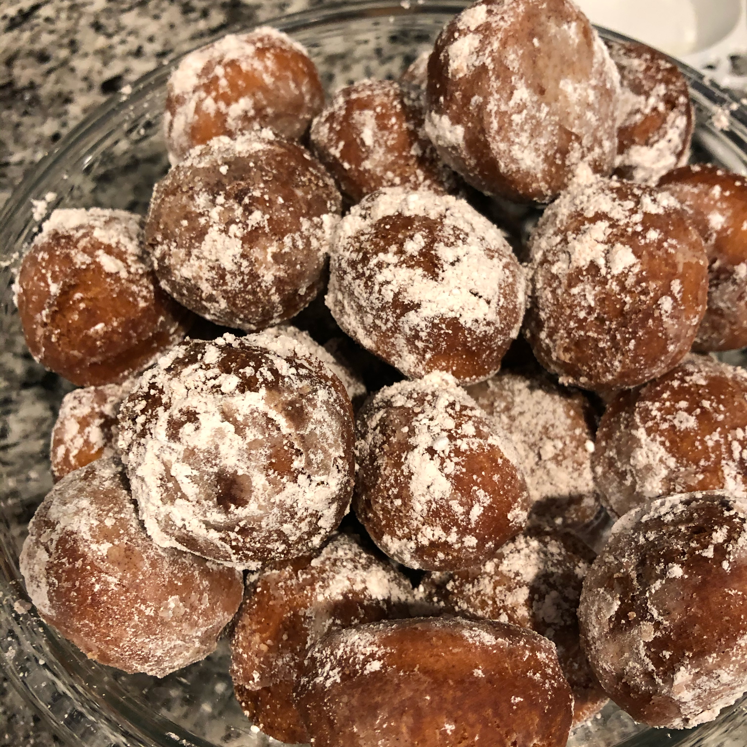 Applesauce Doughnuts with Buttermilk Ildiko Csehely Orlando