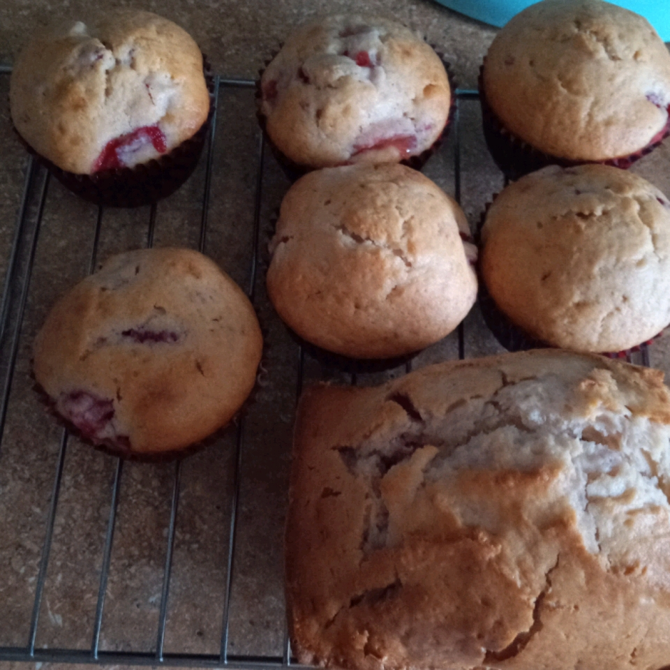Strawberry Muffins yazz