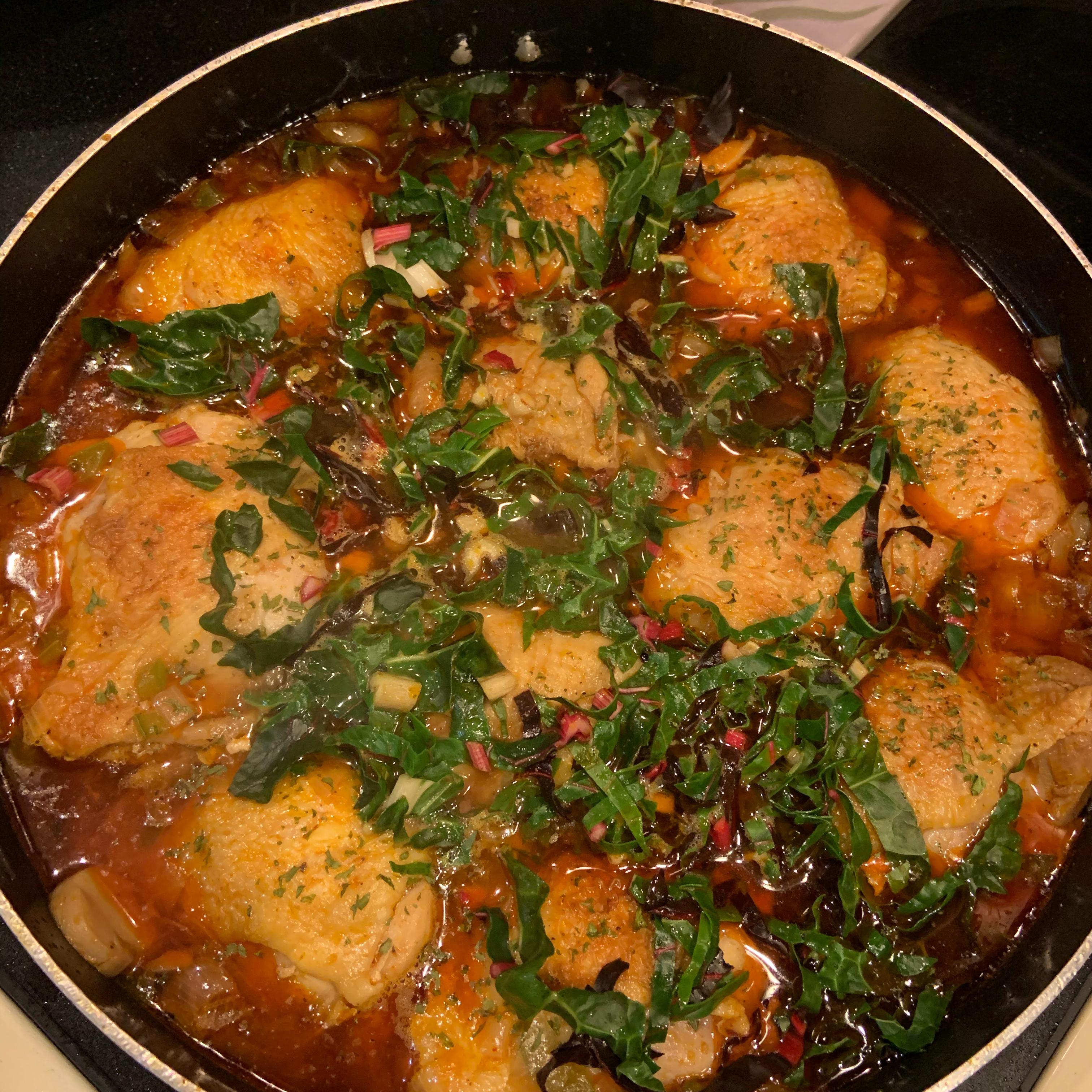 Chicken Paprikash I