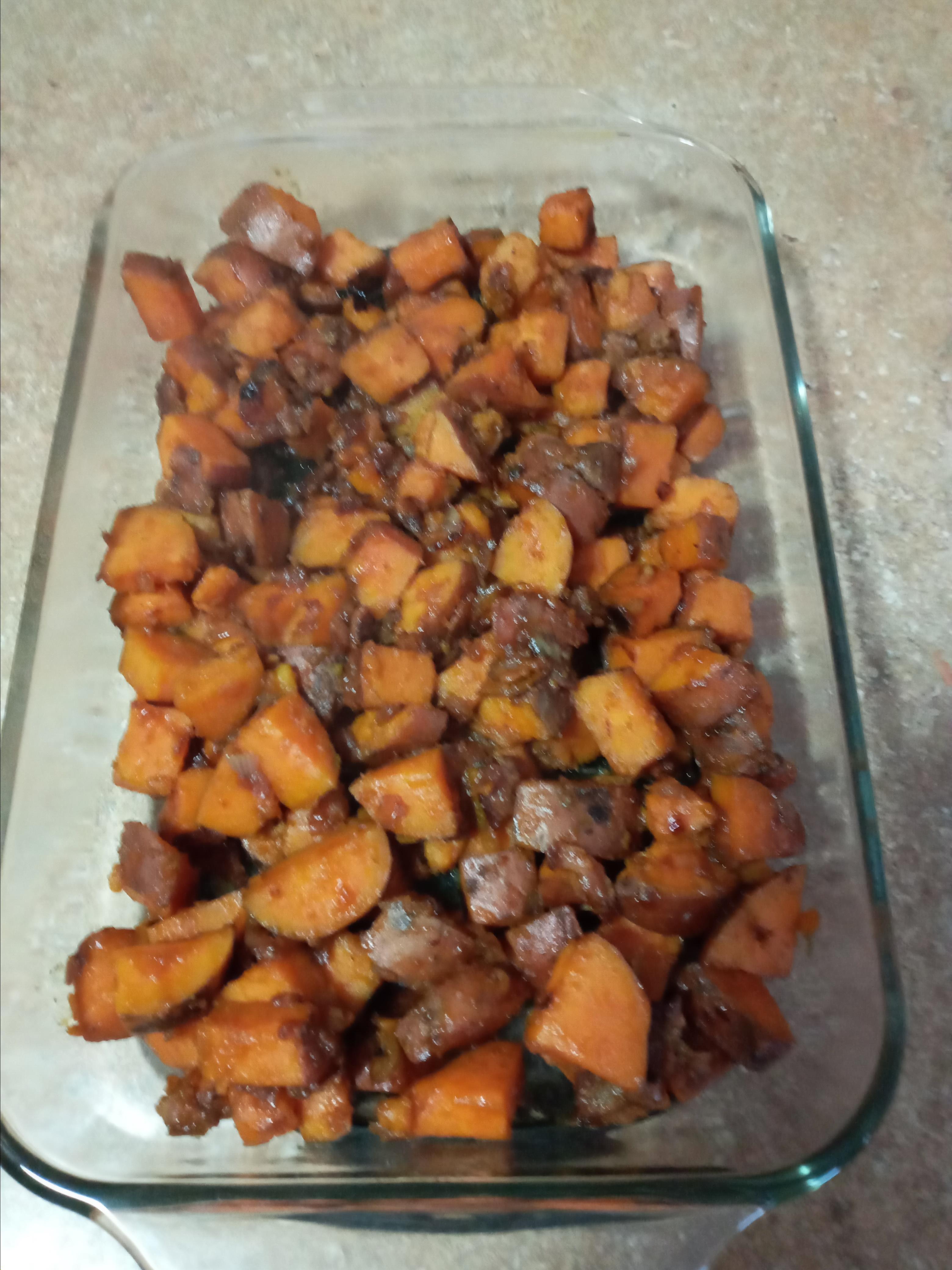 Sweet Potato and Fennel Hash Mark V