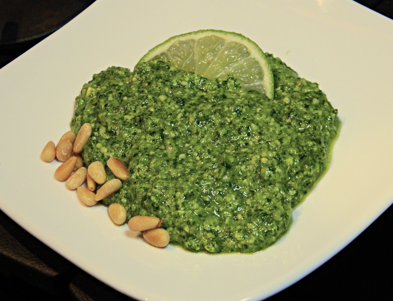 Cilantro Jalapeno Pesto with Lime