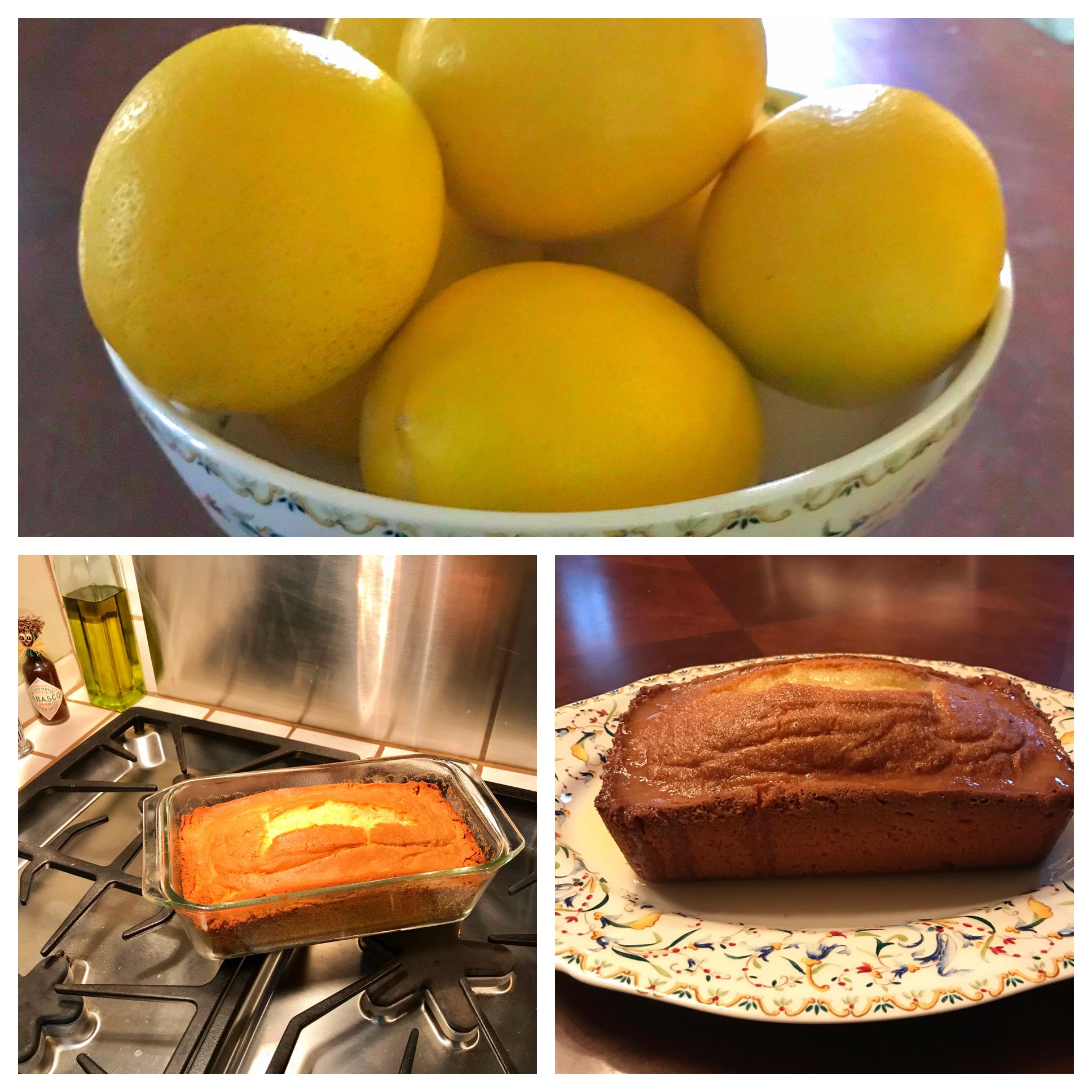 Lemon Bread Molly Gray