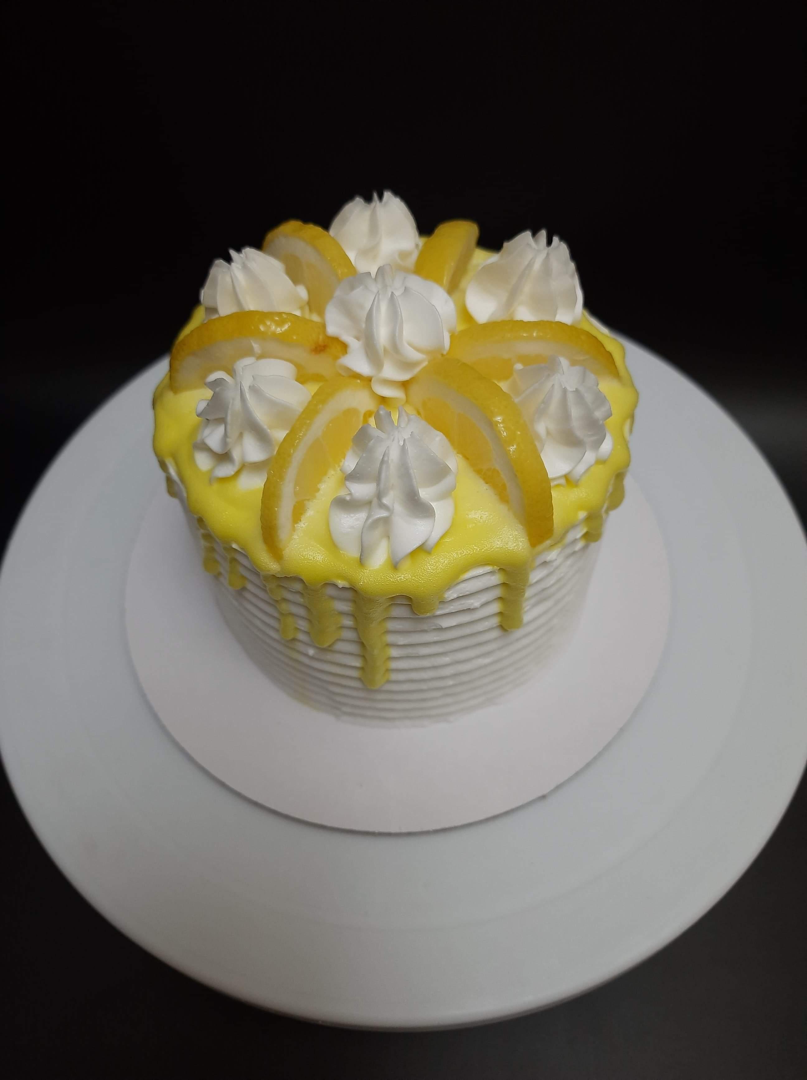 Lemon Chiffon Cake Ms. Yang