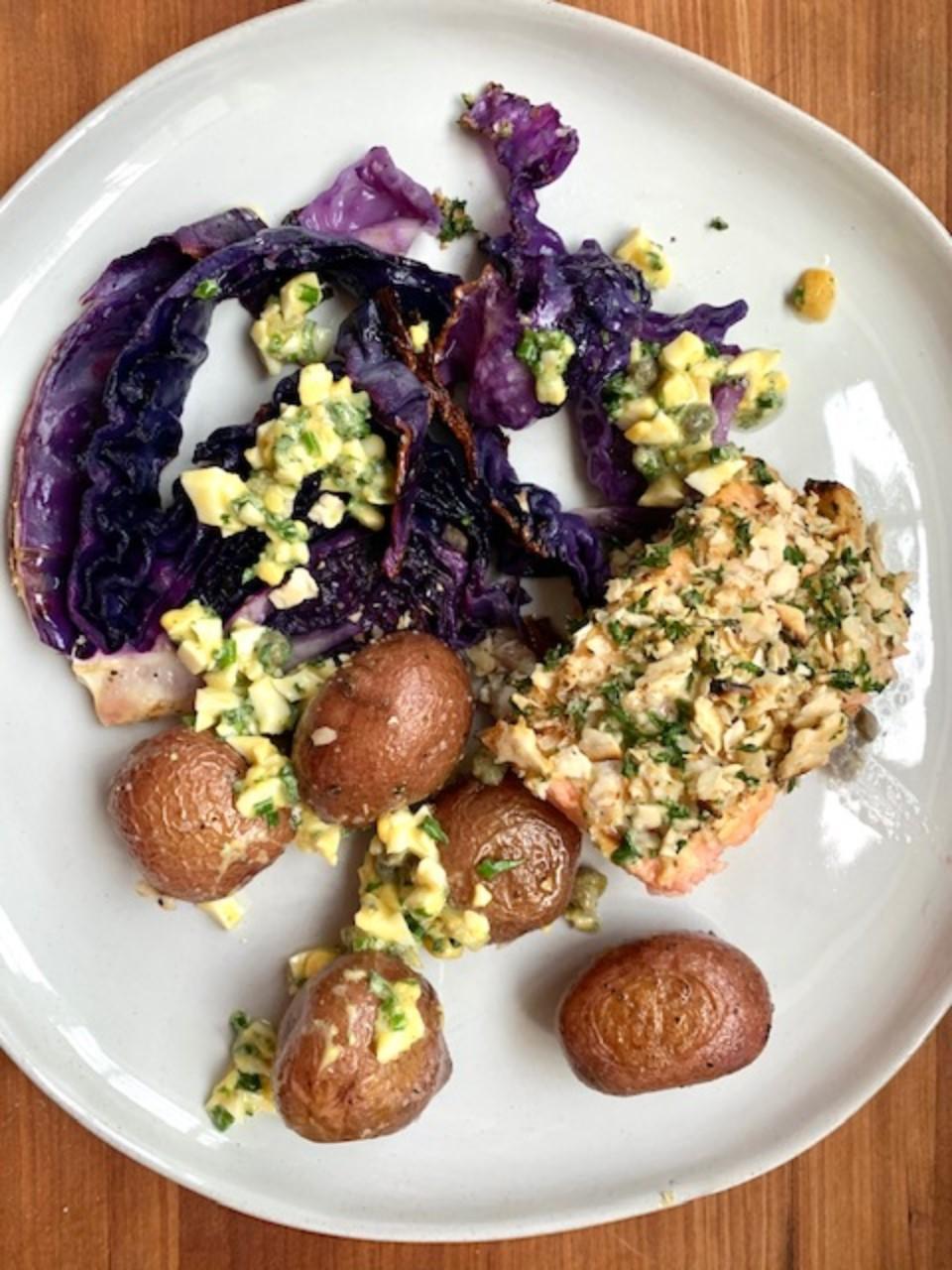 Sheet Pan Passover Dinner AllrecipesPhoto