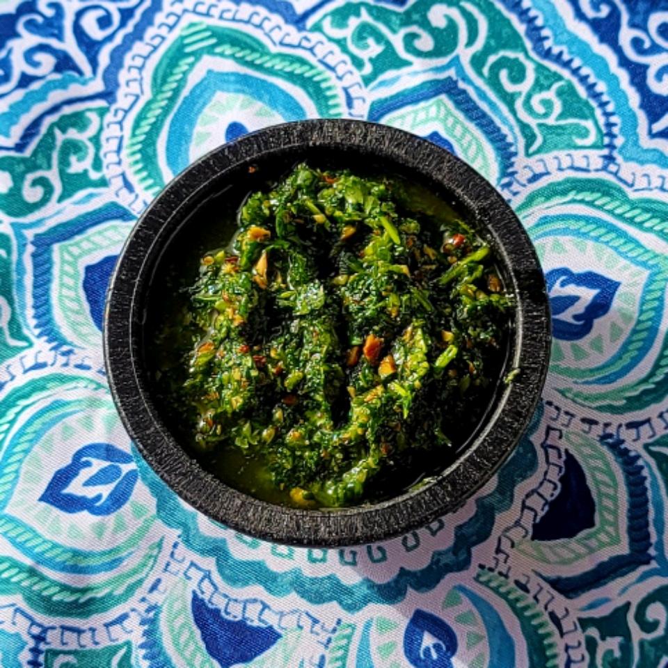 Spicy Cilantro Pesto