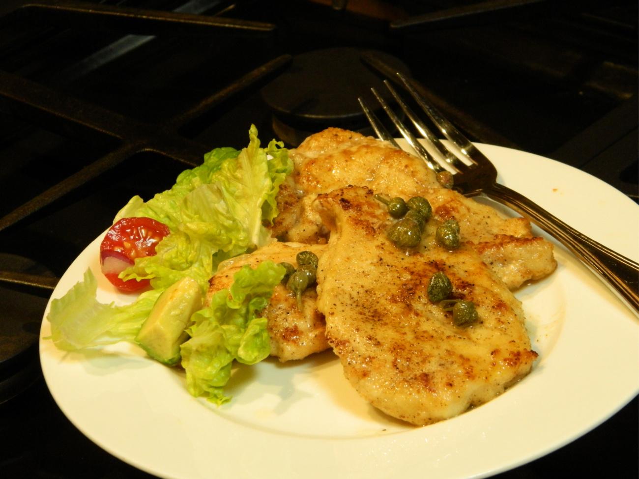 Easy Chicken Piccata Marianne