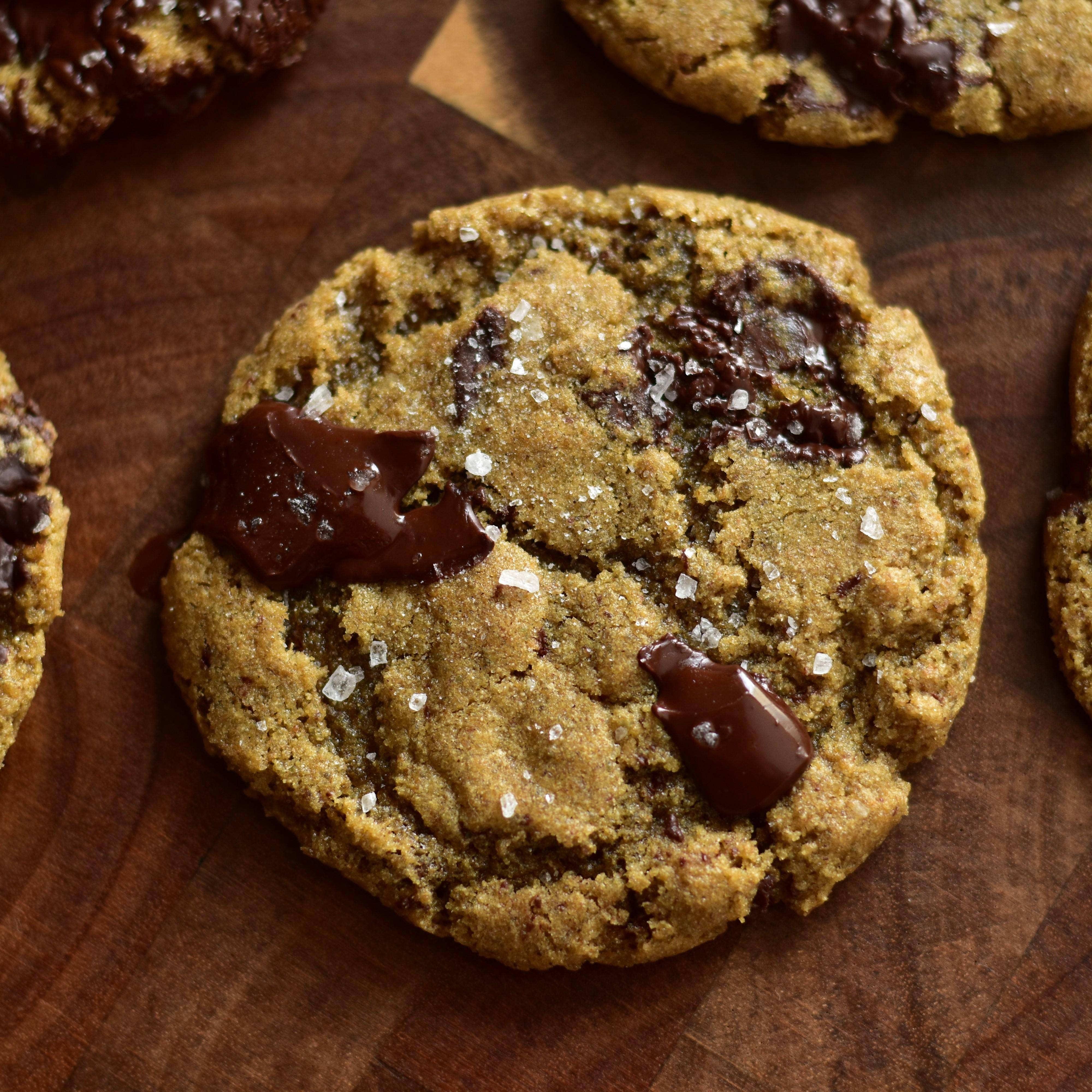 Rye Chocolate Chip Cookies
