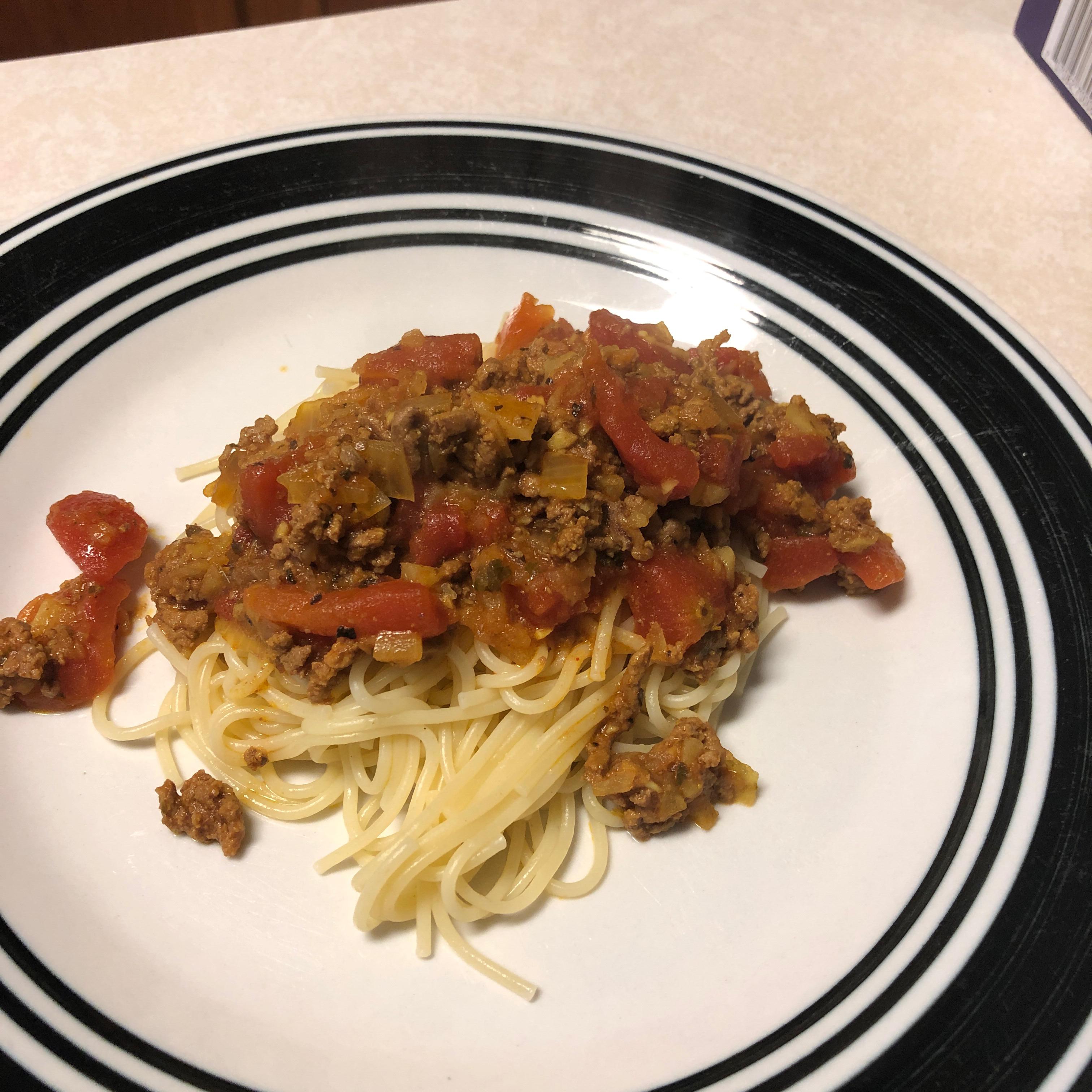 Somali Spaghetti Sauce Tamara Constanza