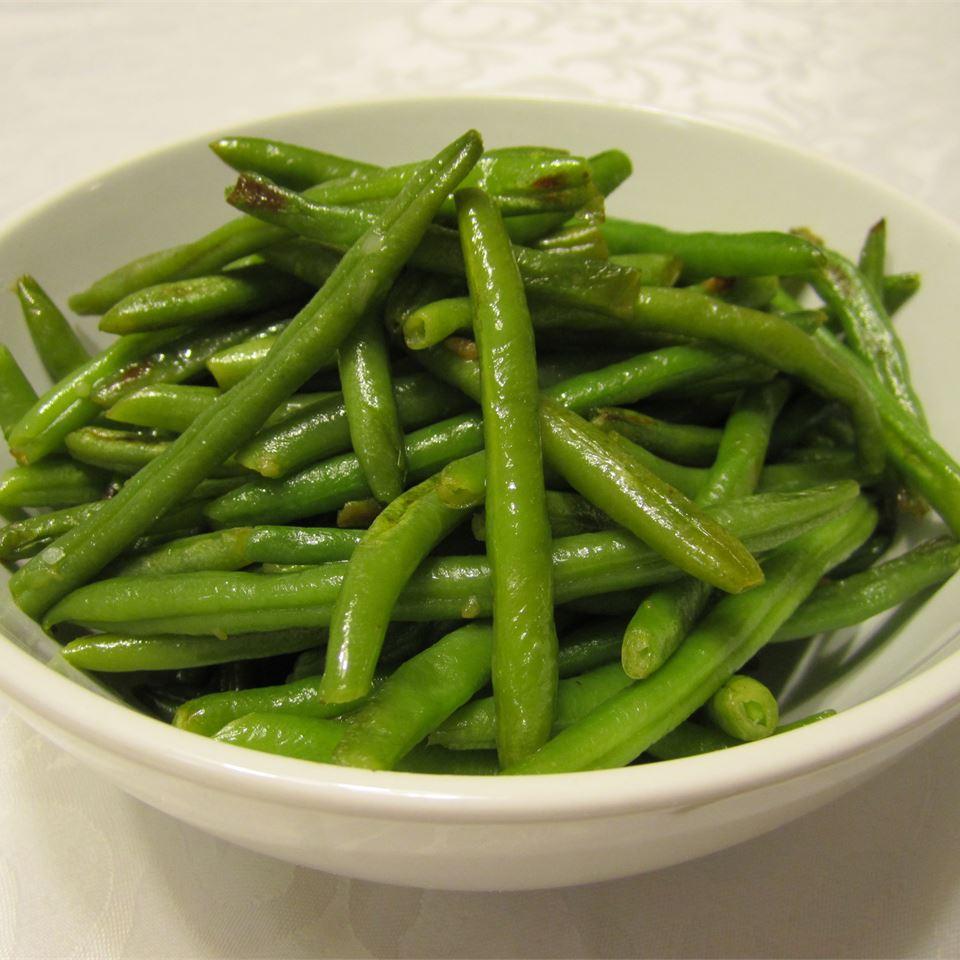 Easy Garlic Green Beans