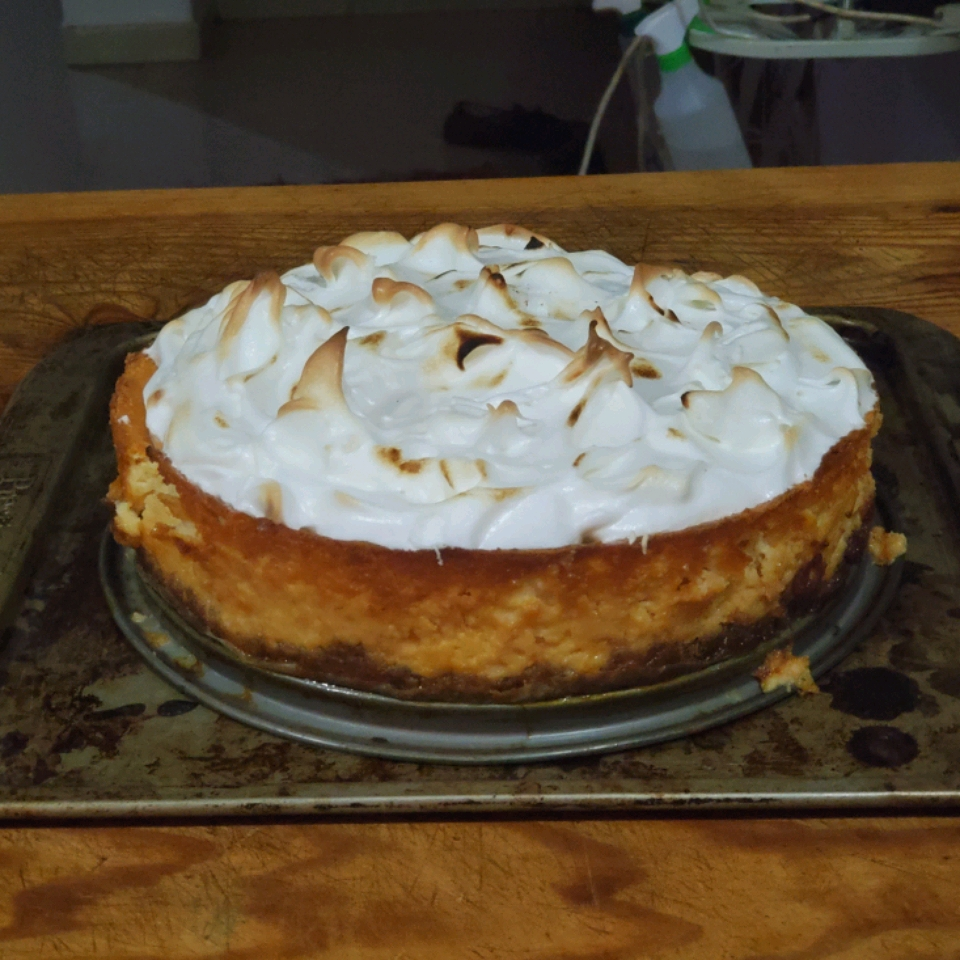 Lemon Meringue Cheesecake Nicole Stacey