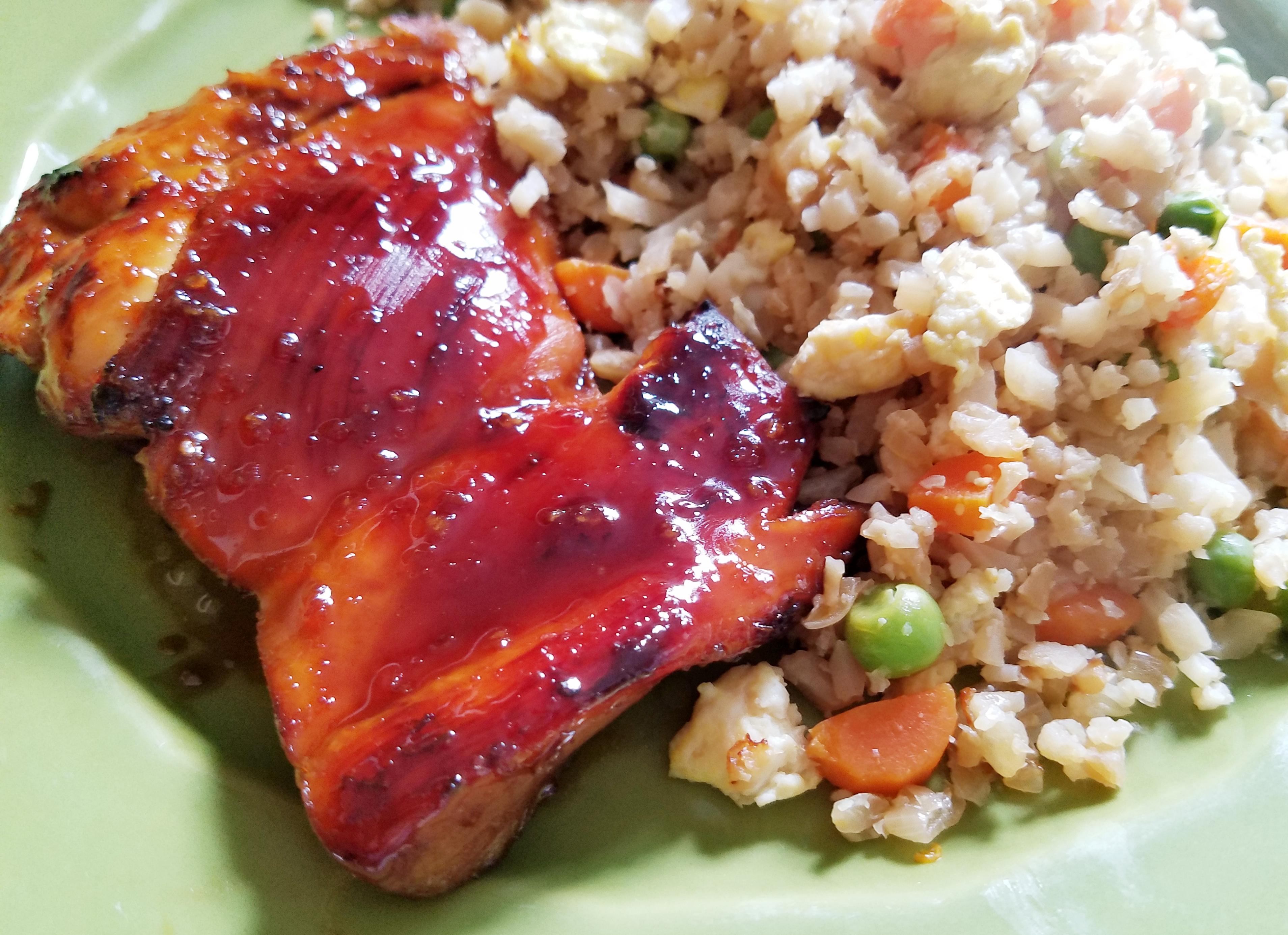 Thai Chicken Thigh Bake