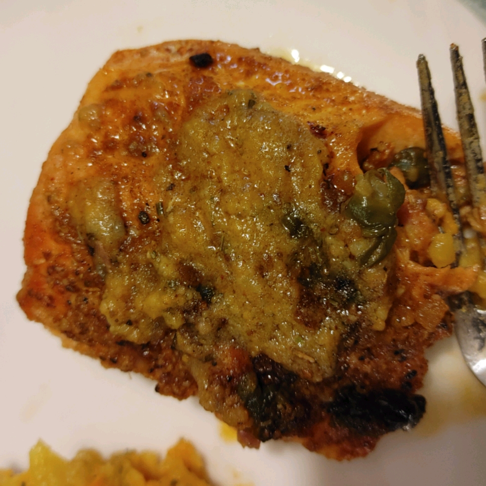 Speckled Trout in Capers and White Wine MD
