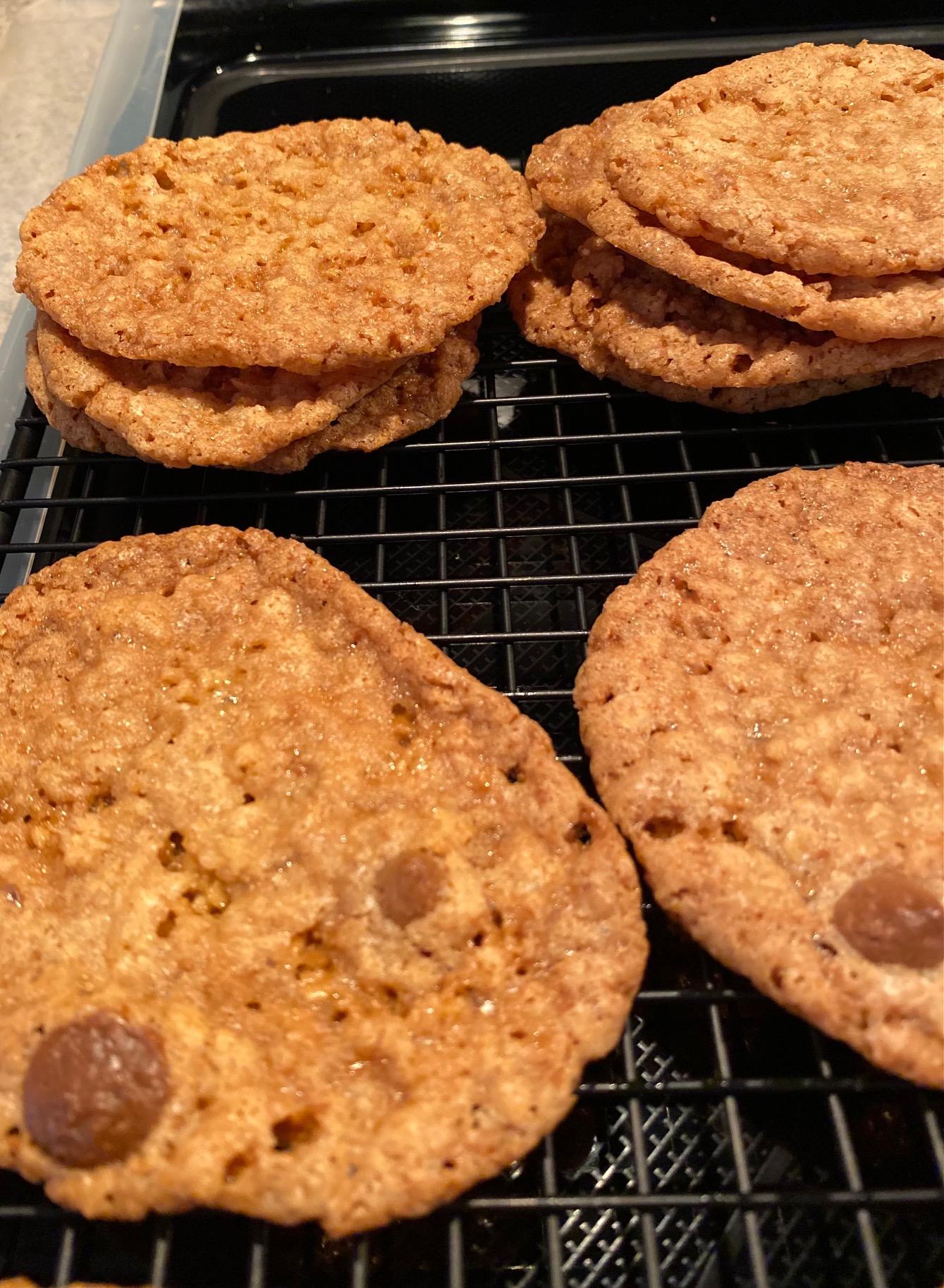 Lacy Oatmeal Cookies Tonya Collazo