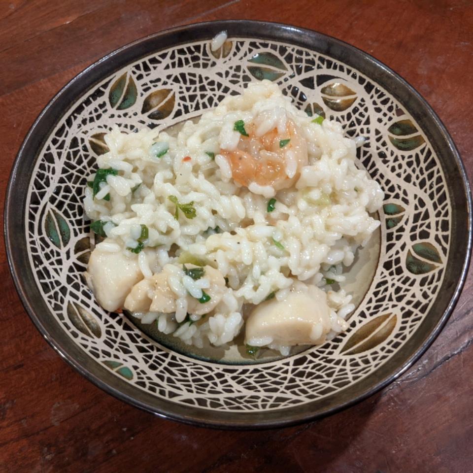 Italian Shrimp and Scallop Risotto Frances Smith