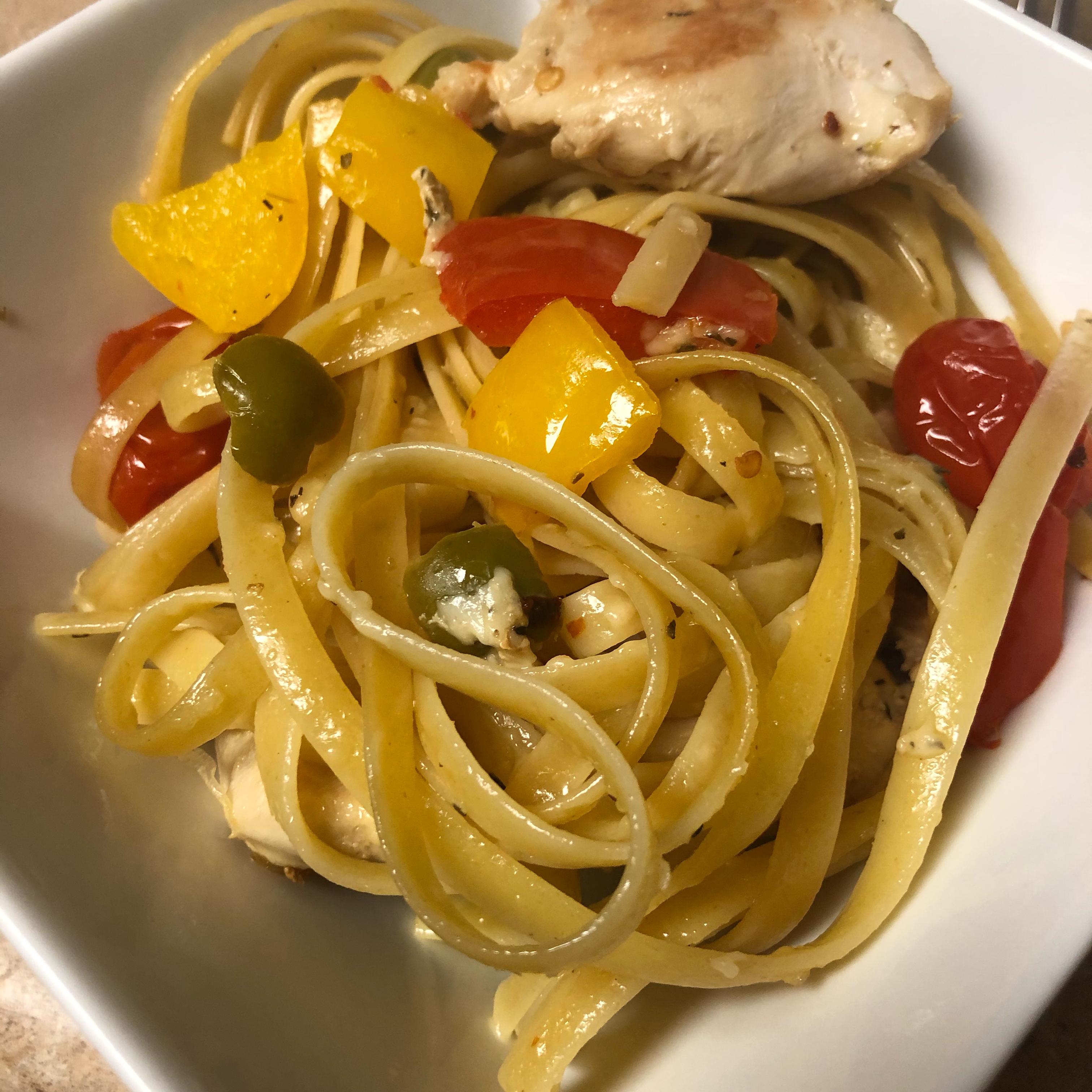 Mediterranean Chicken and Pepper Casserole Stephen Dante Ramella