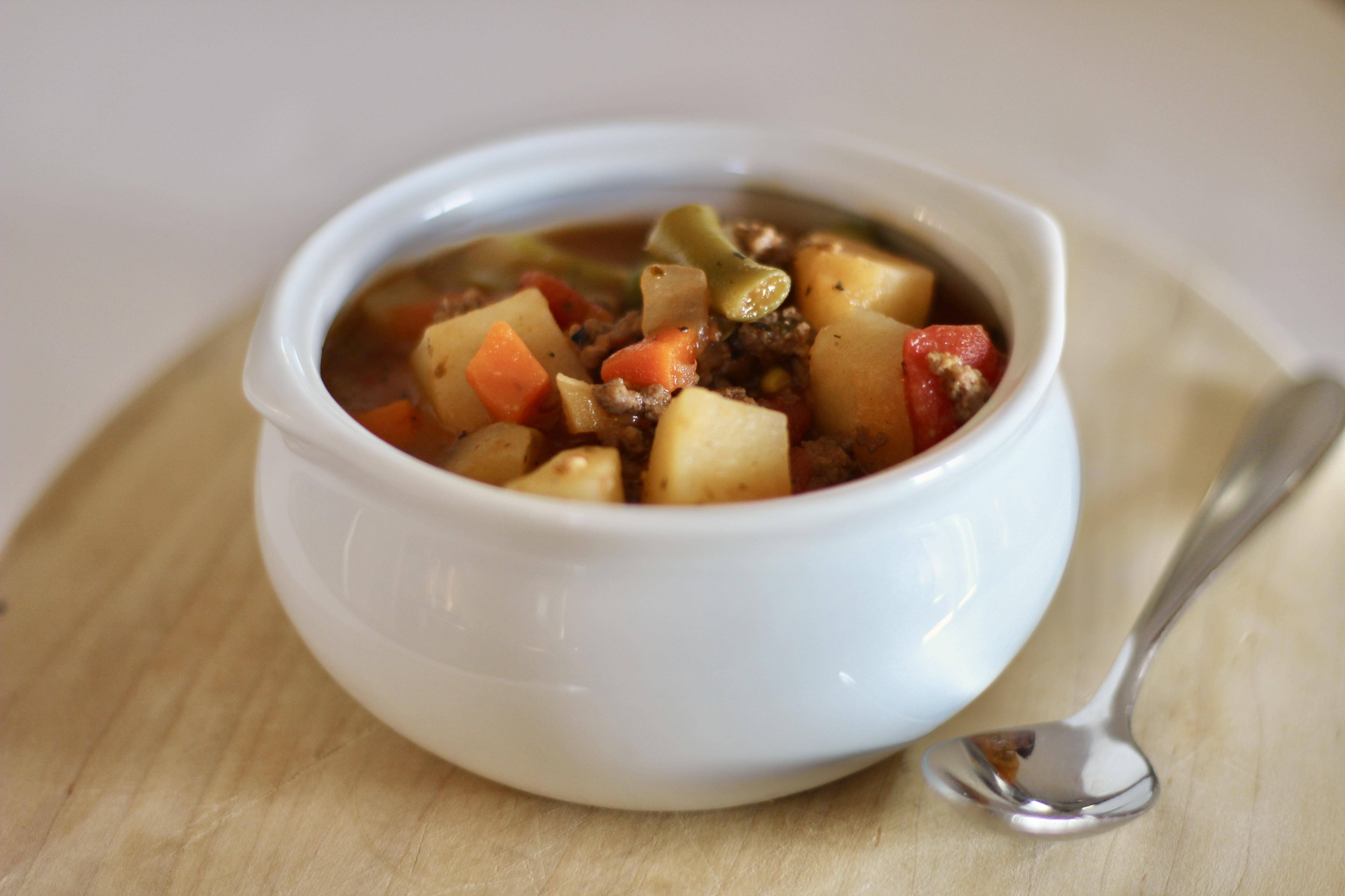 Old-Fashioned Hamburger Stew
