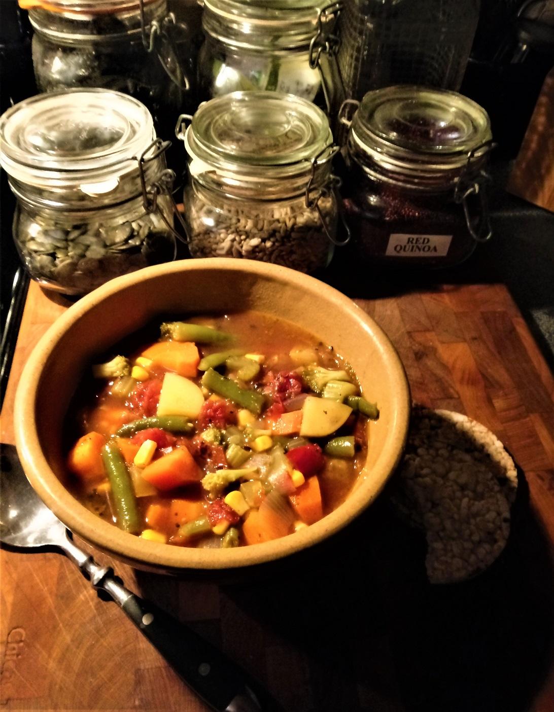 Old-Fashioned Vegetable Soup Rick Bernard