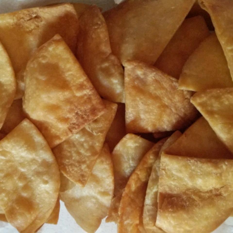 Fried Flour Tortilla Chips