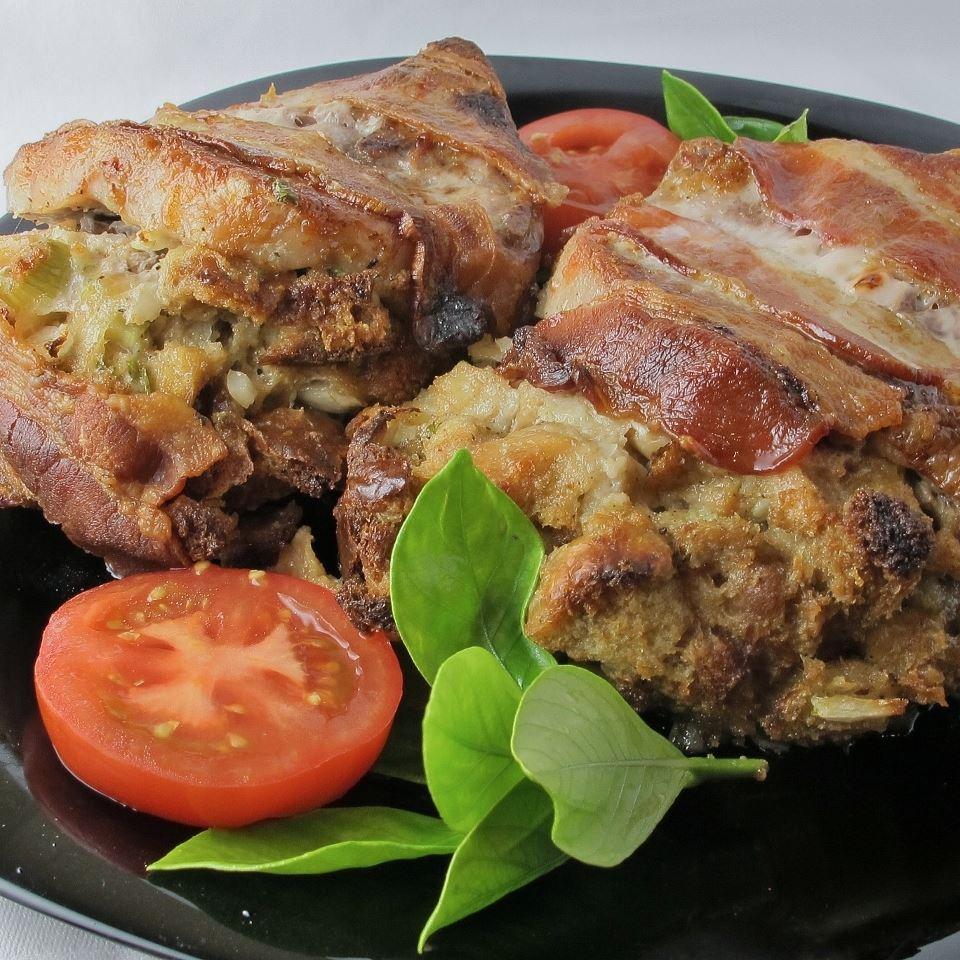 Stuffed Porkster Chops