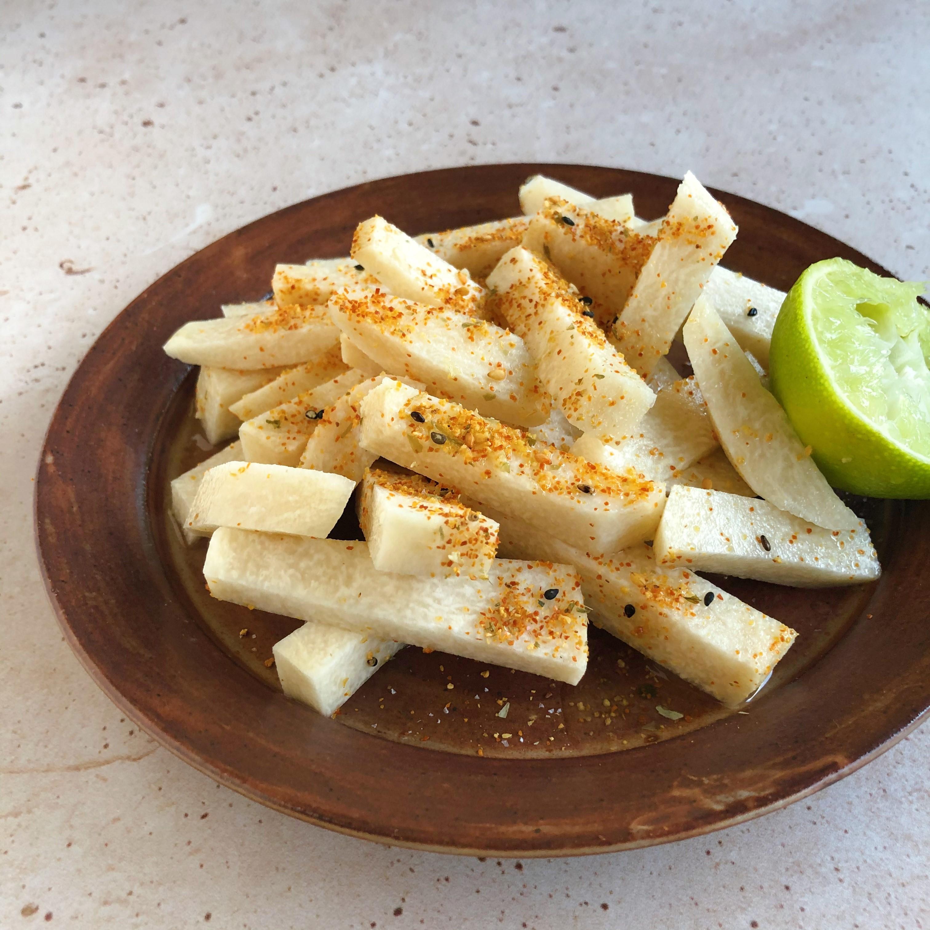 Mexican Jicama Snack