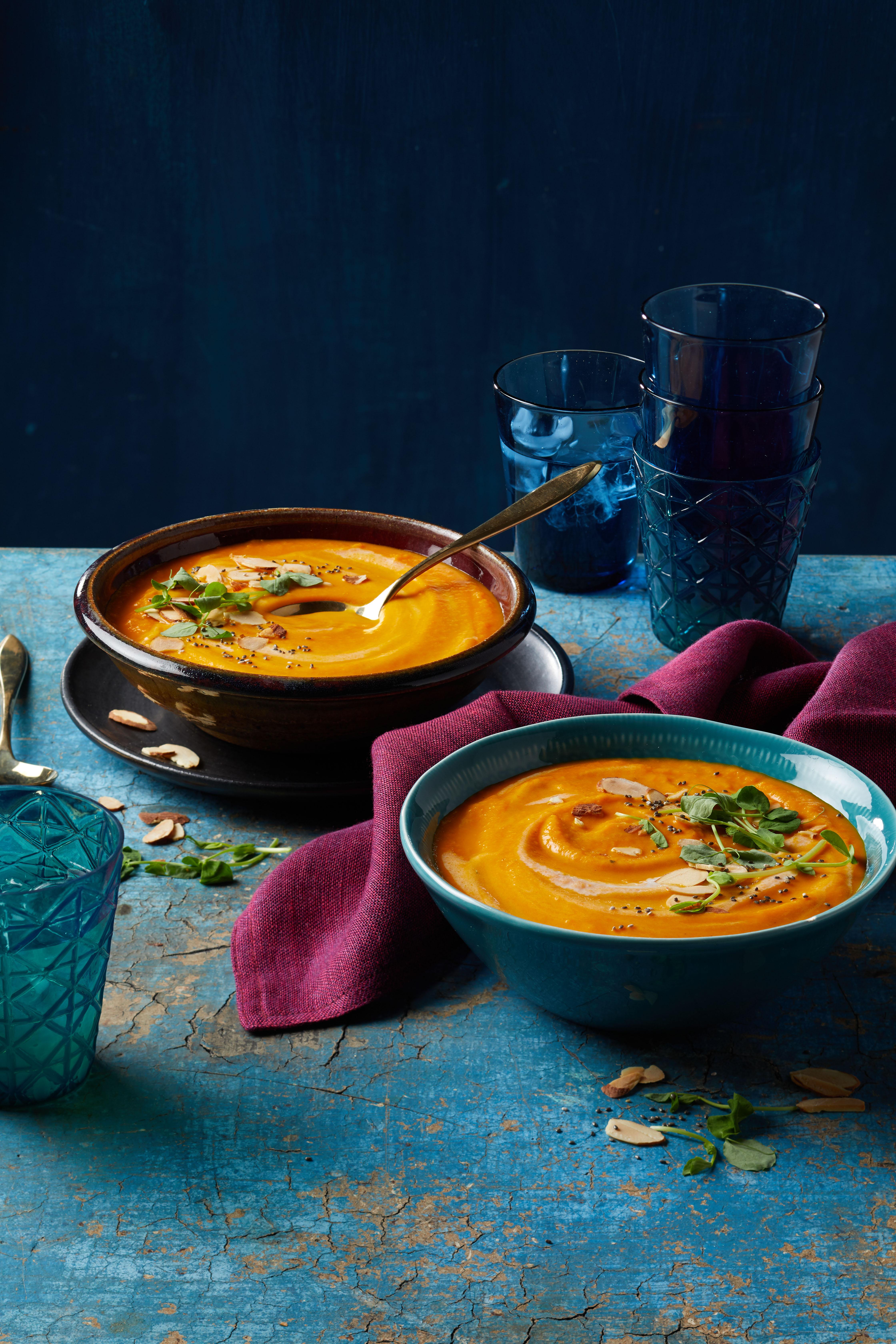 Caribbean Carrot-Ginger Soup Allrecipes Magazine