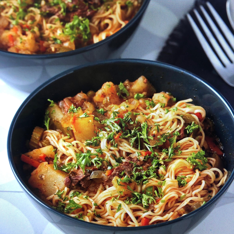 Lagman (Uzbek Noodle Soup) algts