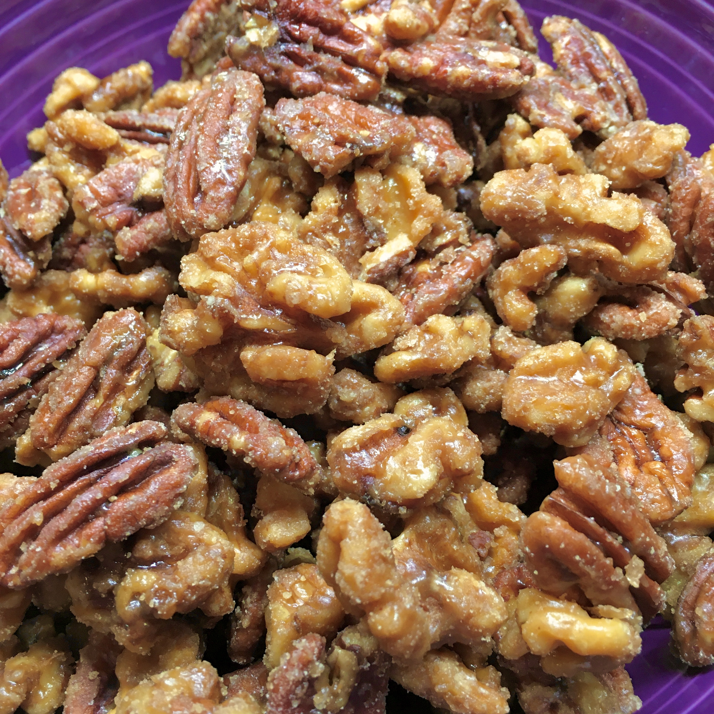 Paleo Toasted Maple Pecans Chertinep