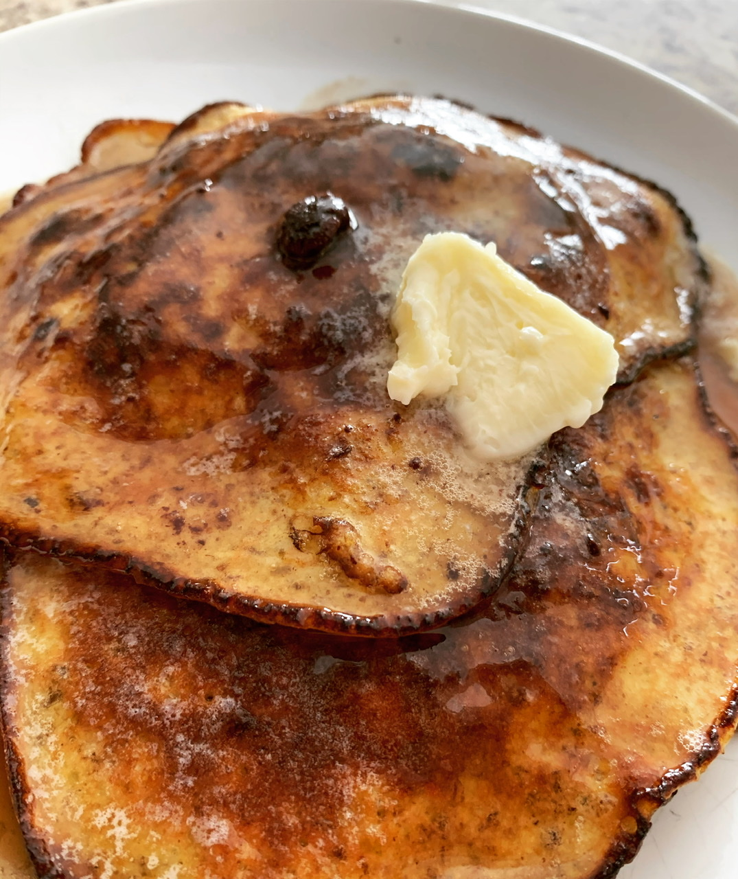 Flourless Banana Pancakes Angie Aker