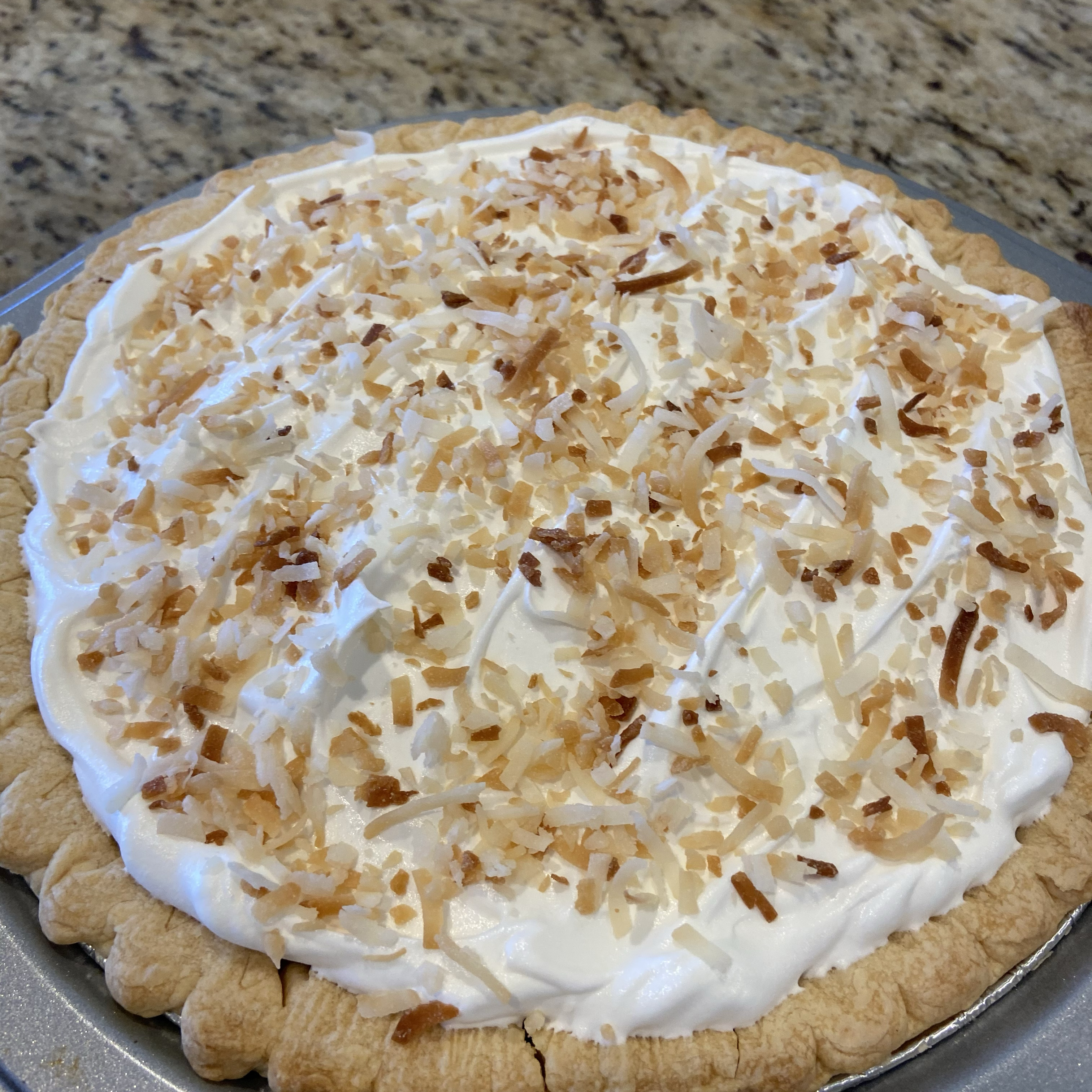 Old Fashioned Coconut Cream Pie grubes