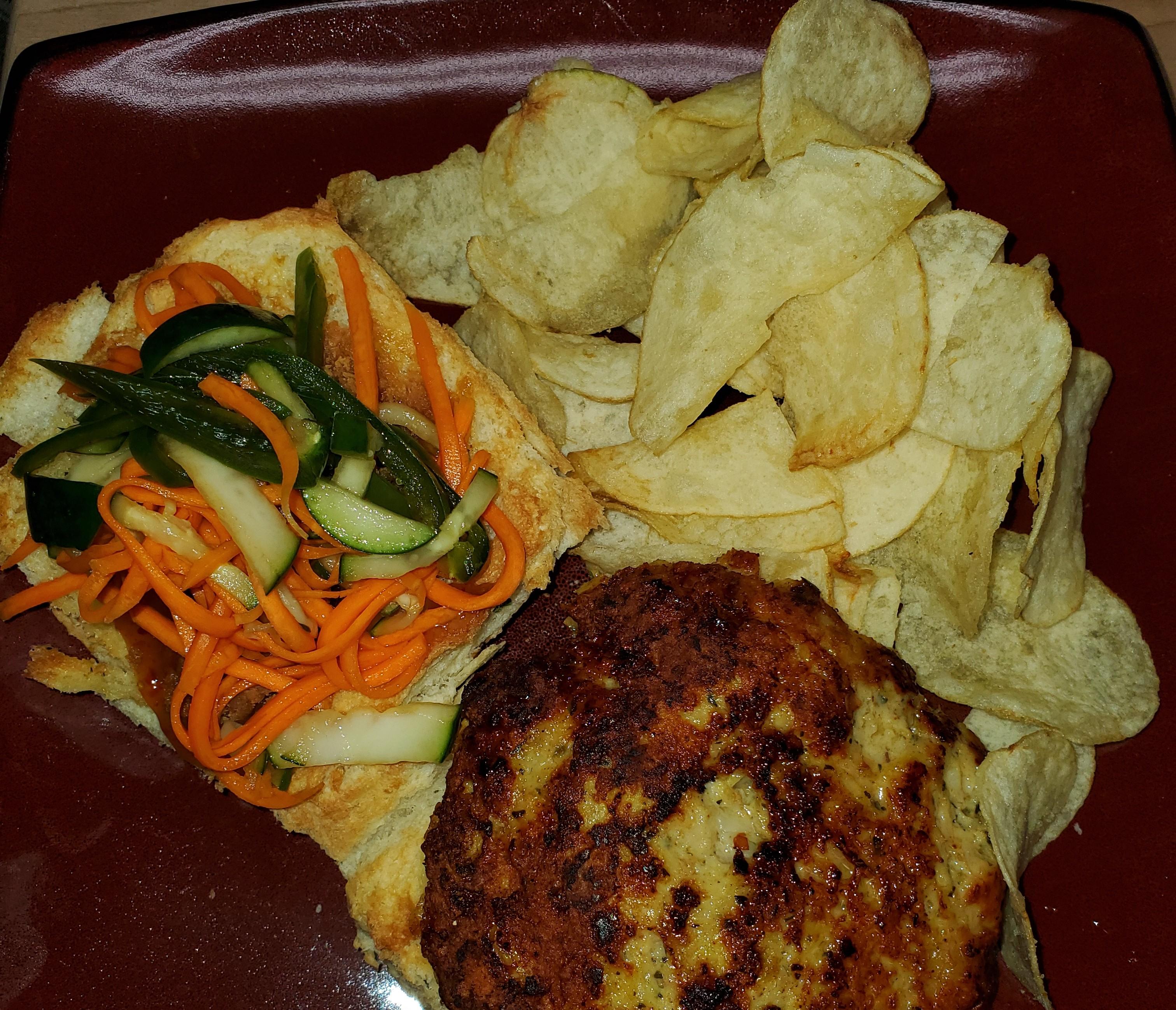 Chef John's Chicken Satay Burger