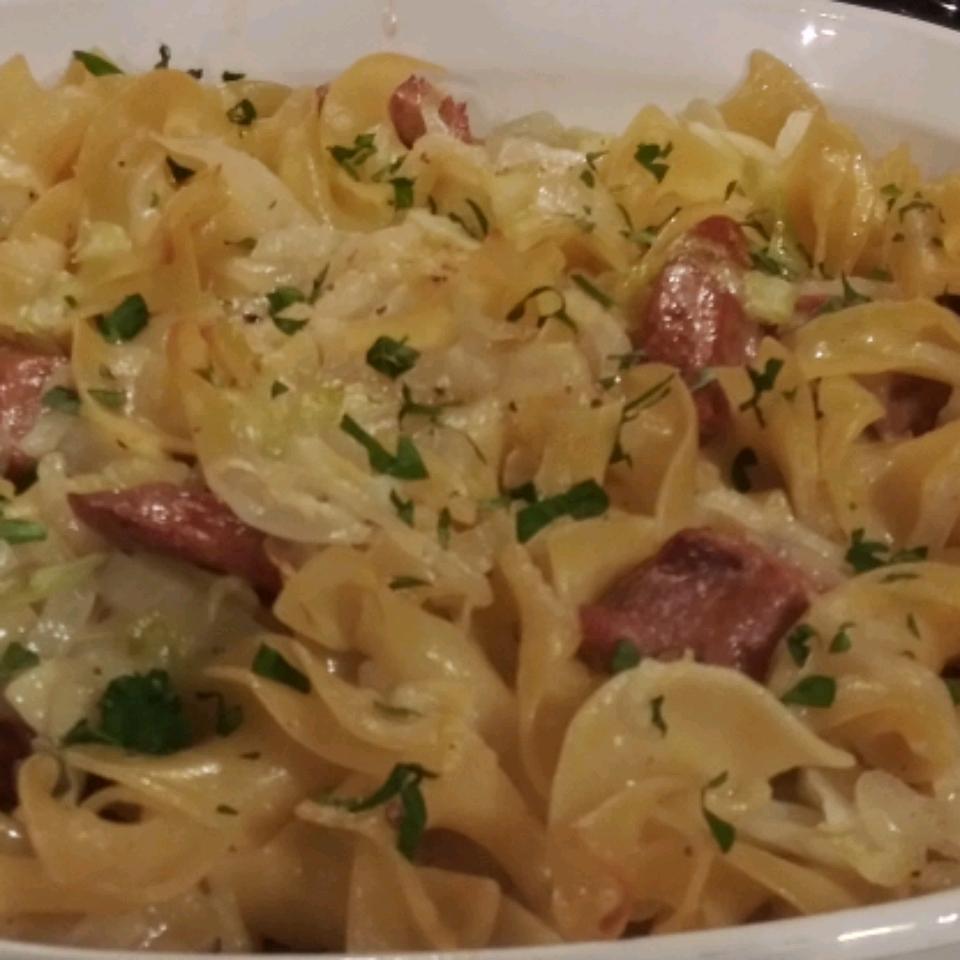 Haluski - Cabbage and Noodles