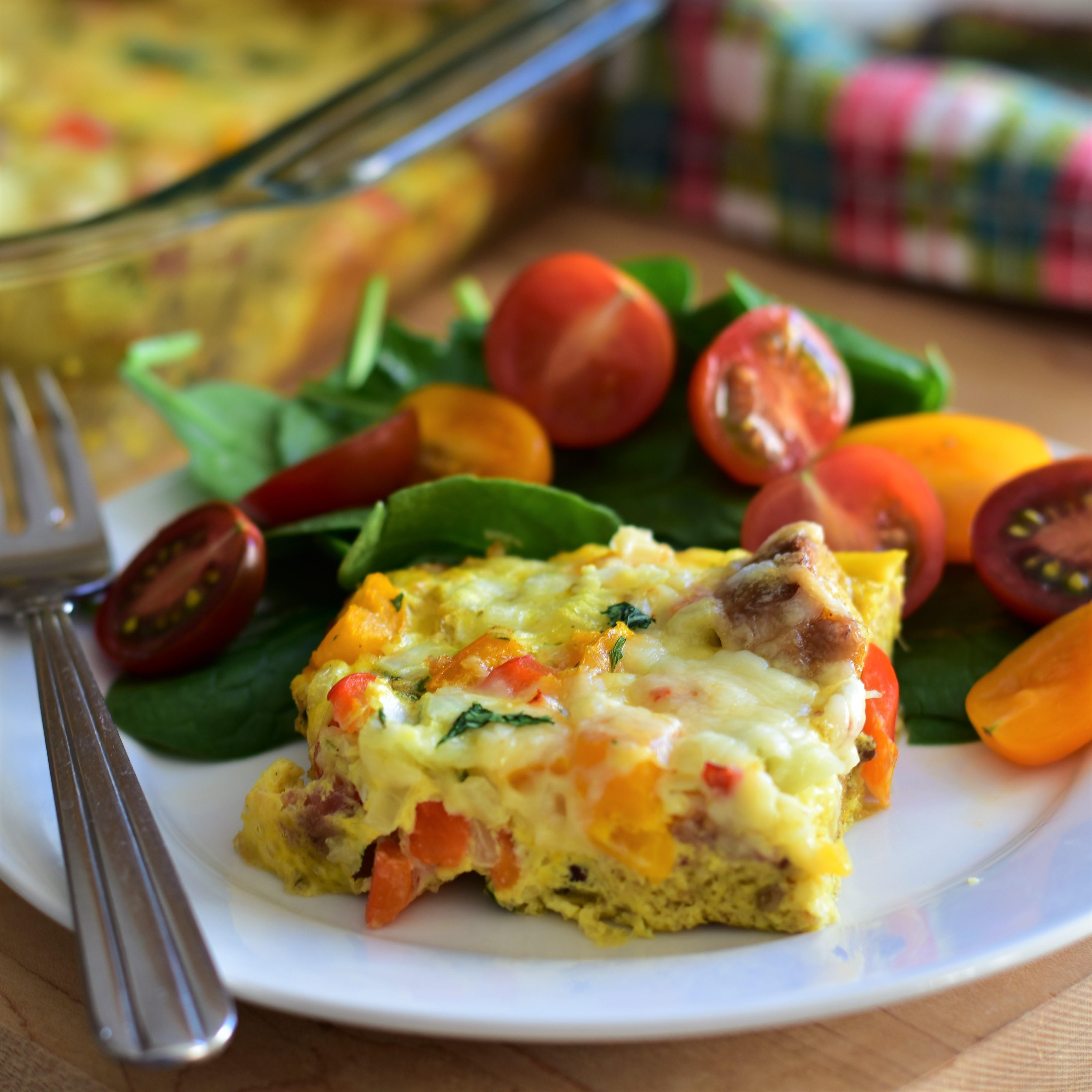 Mexican-Inspired Breakfast Casserole