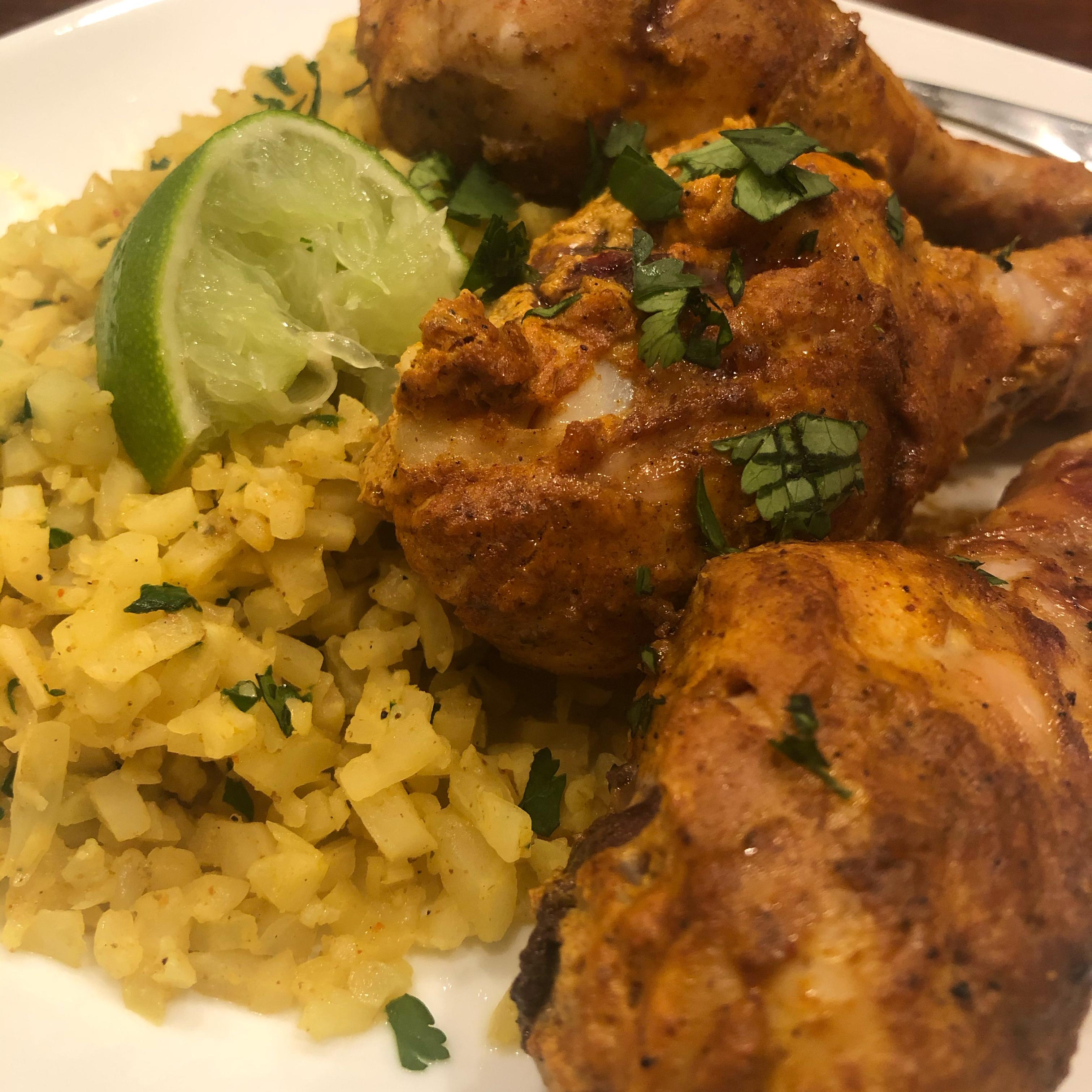Cauliflower Rice (Biryani-Style) Jenee Menconi