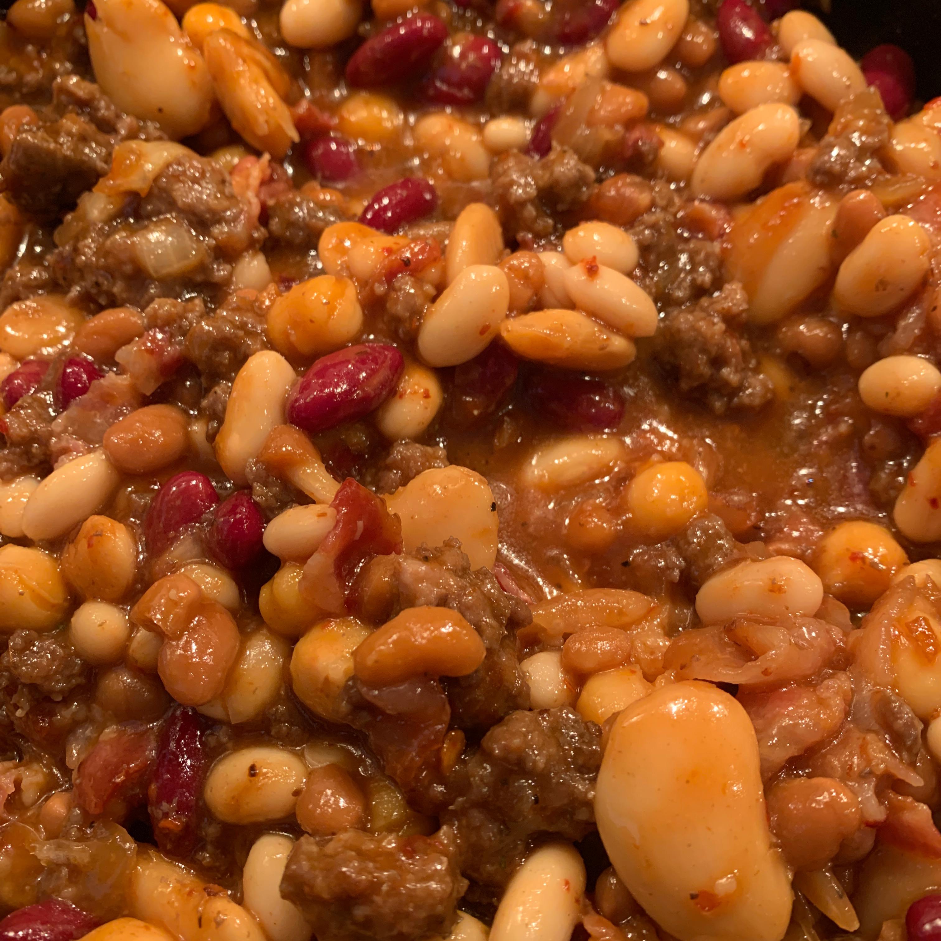 Baked Meaty Beans Nikki Dudley