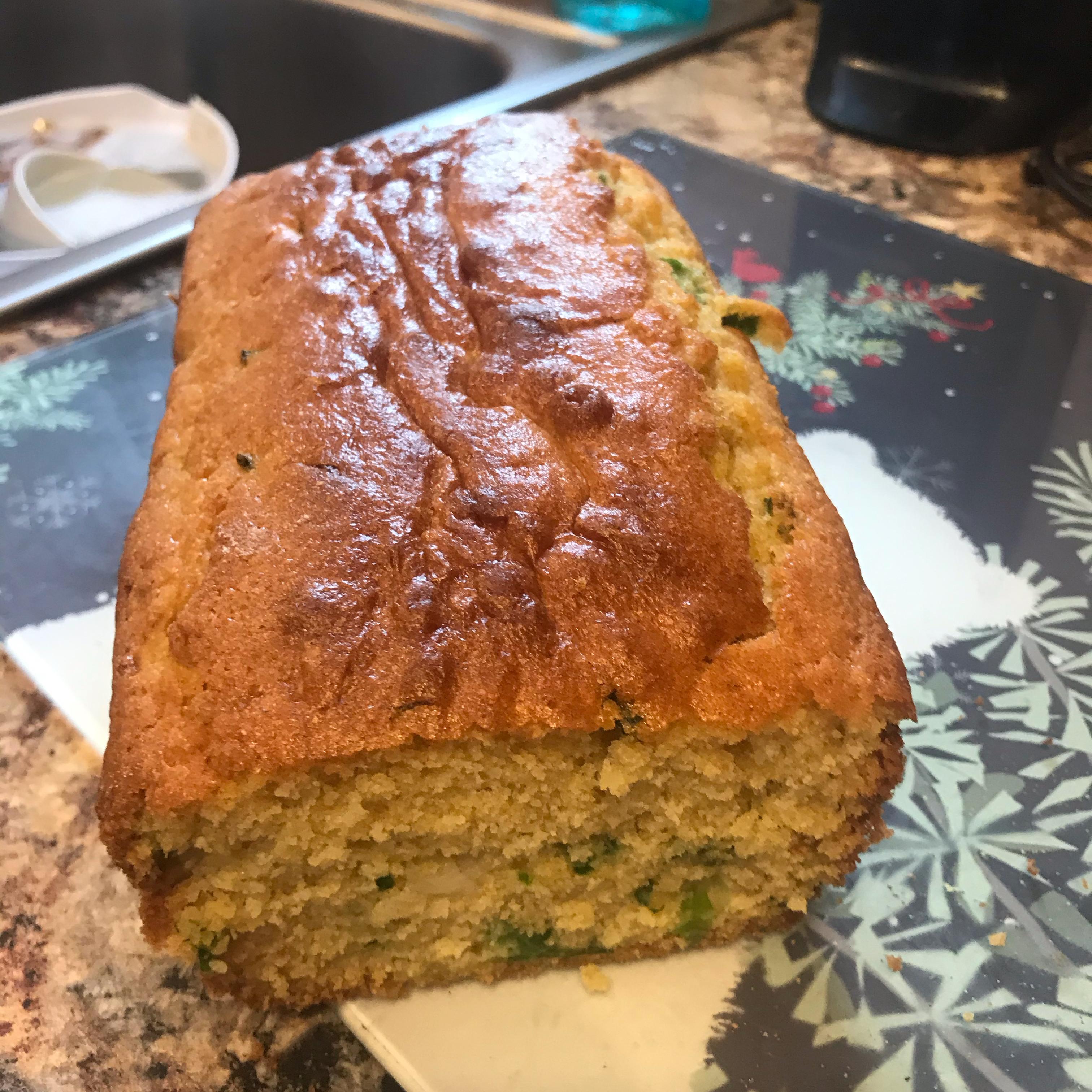 Jalapeno Green Onion Ale Corn Bread