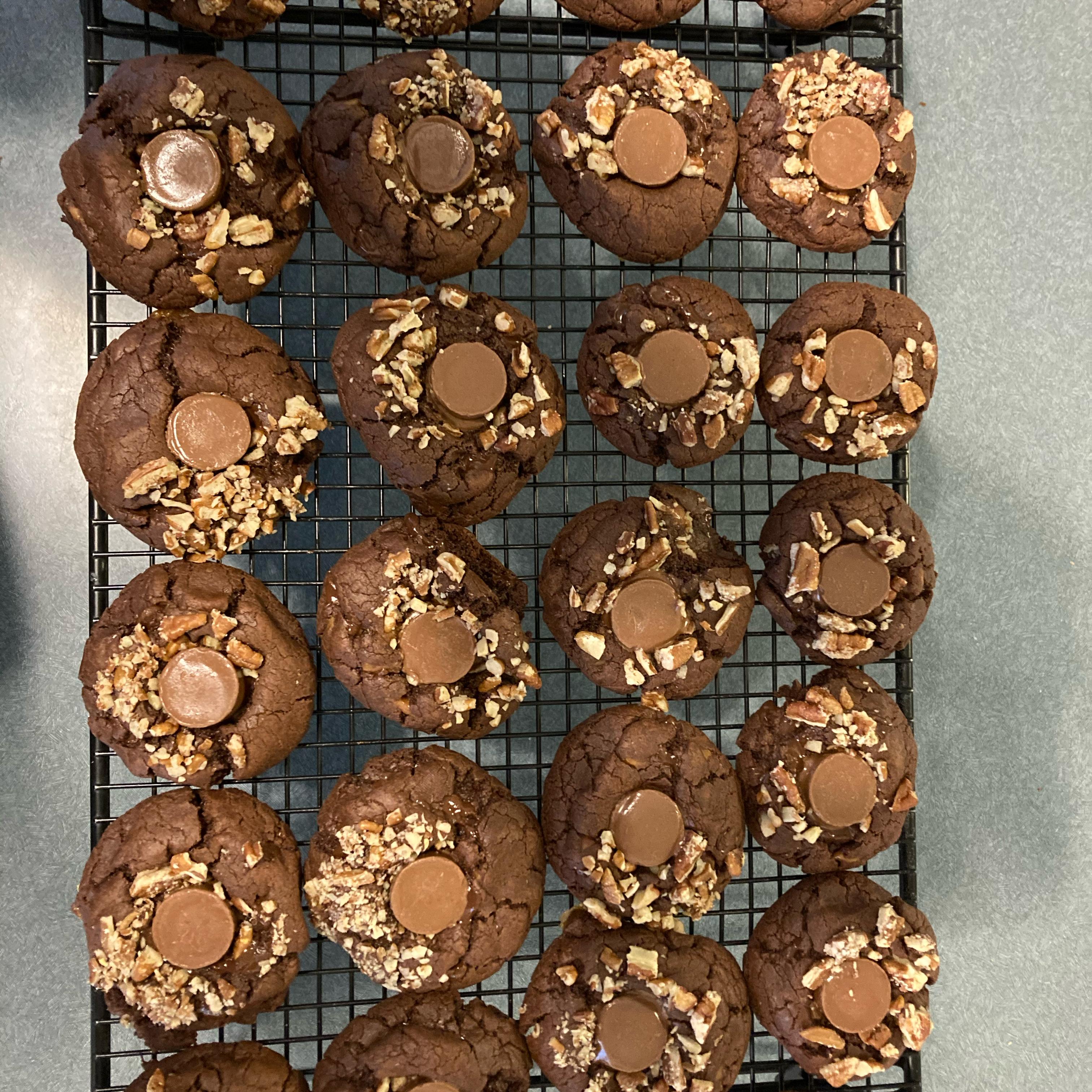 Turtles® Fudge Chocolate Chip Cookies Mark