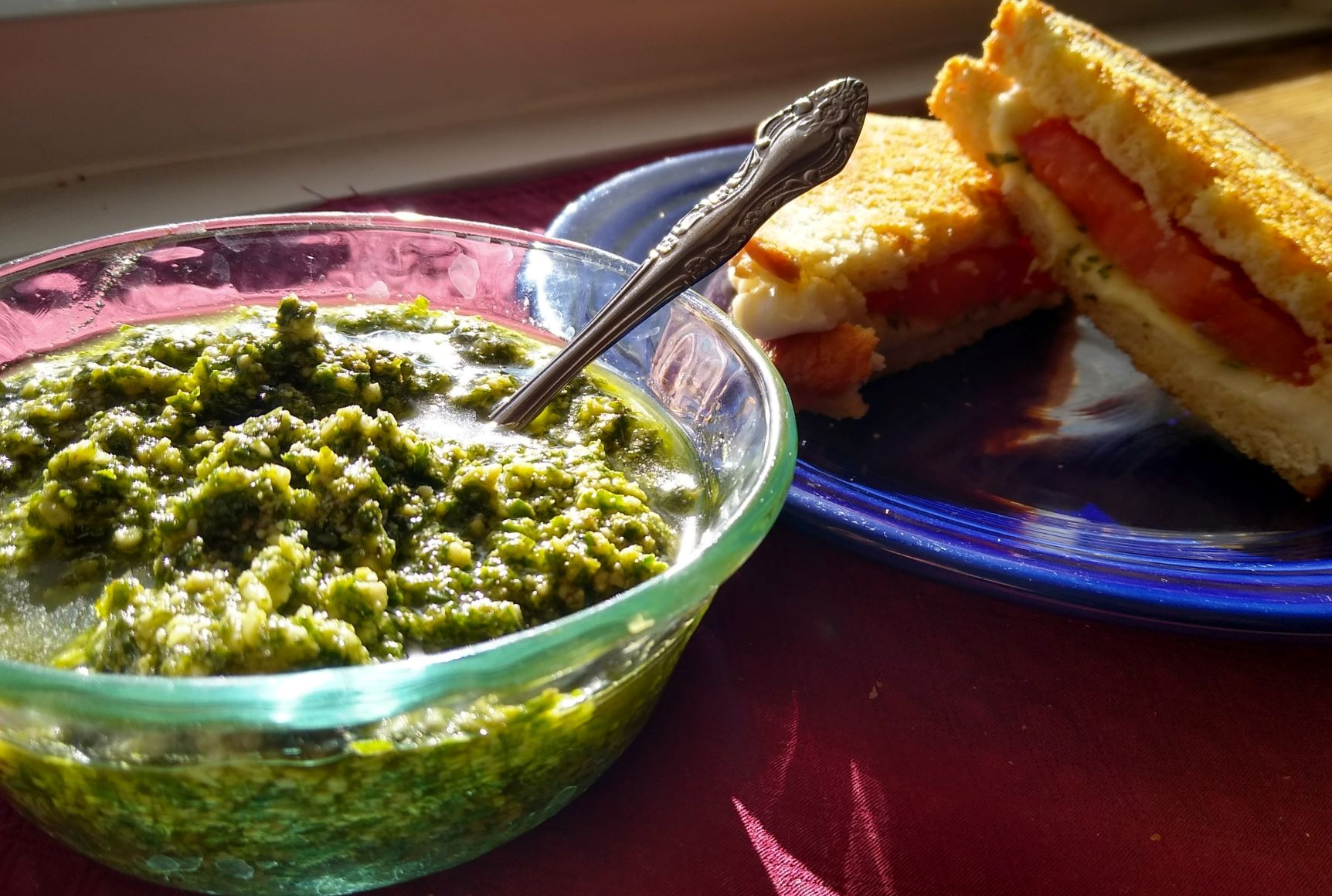 Fresh Basil Pesto donnam